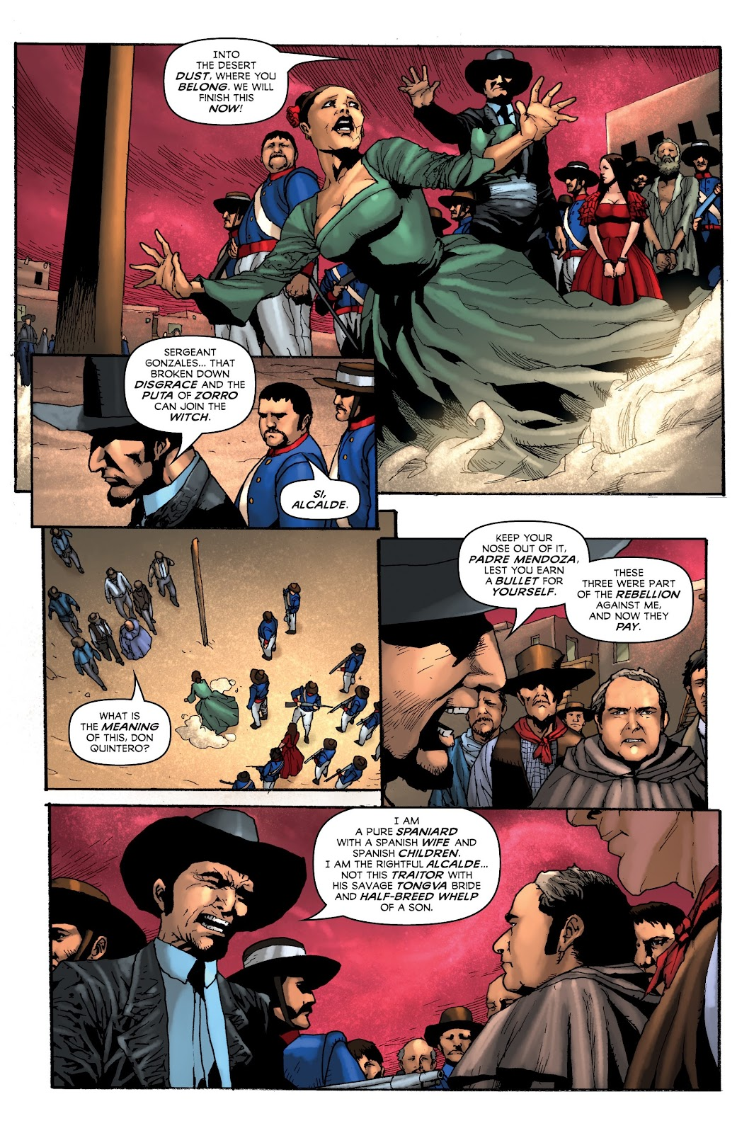 Read online Zorro: Swords of Hell comic -  Issue #4 - 12