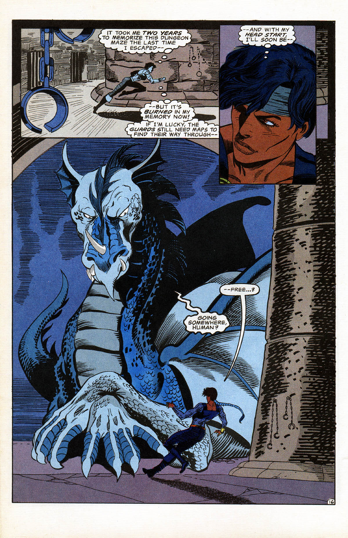 Read online Advanced Dungeons & Dragons comic -  Issue #15 - 19