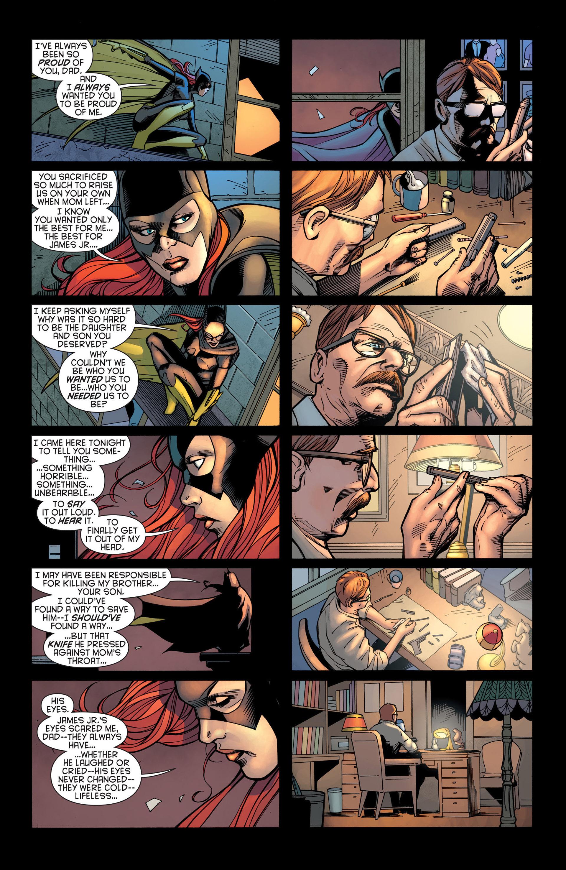 Read online Batman and Robin (2011) comic -  Issue #21 - Batman and Batgirl - 6