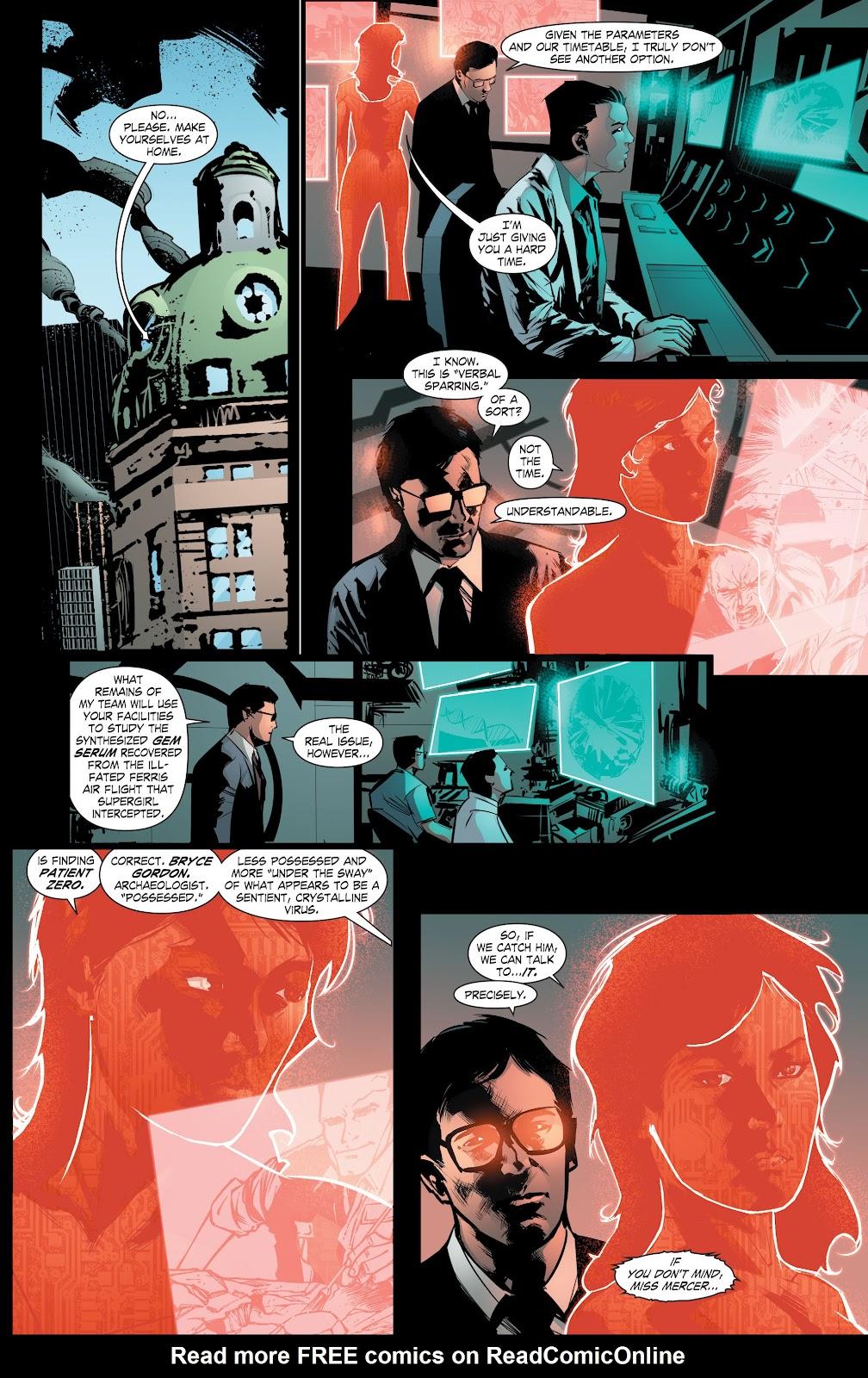 Read online Smallville Season 11 [II] comic -  Issue # TPB 8 - 133
