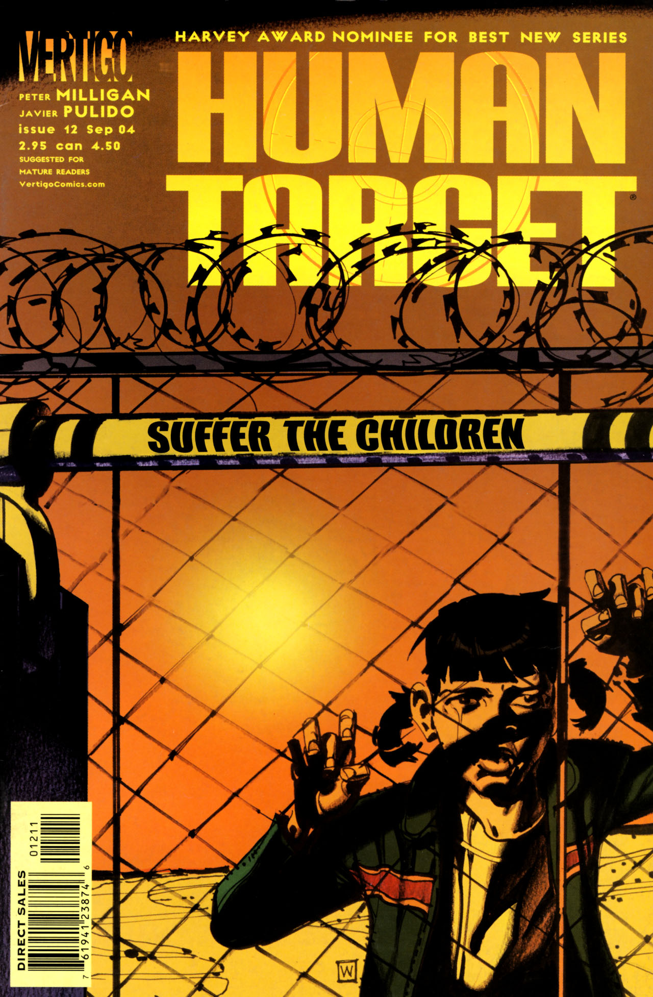 Human Target (2003) issue 12 - Page 1