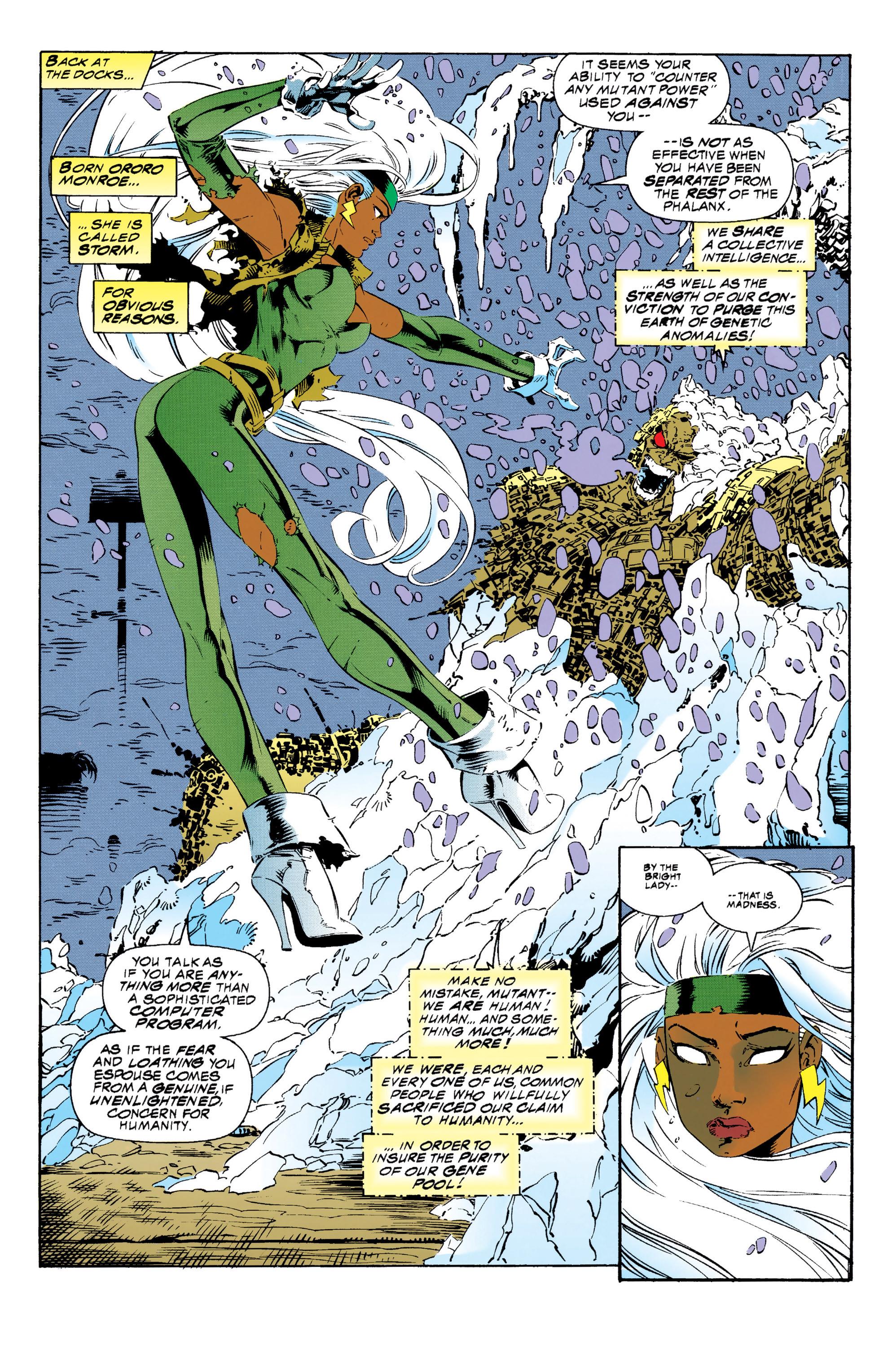 Read online Uncanny X-Men (1963) comic -  Issue #313 - 10