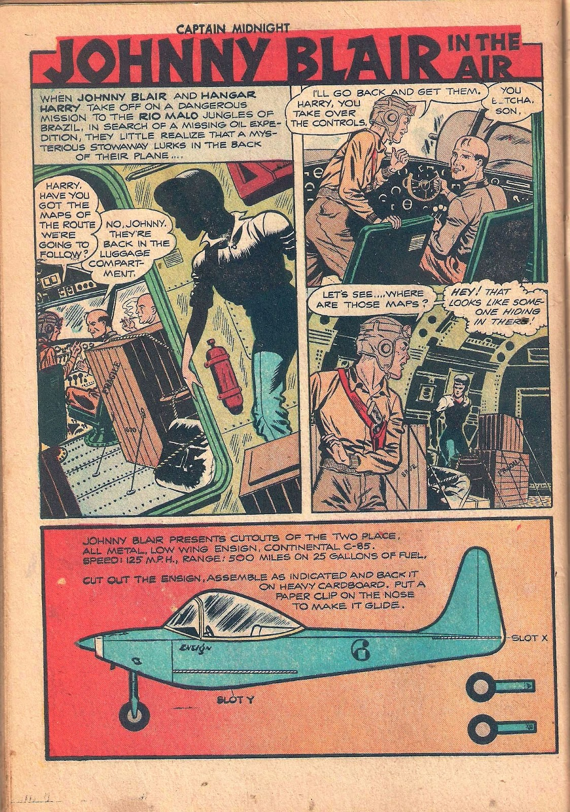 Captain Midnight (1942) issue 53 - Page 34