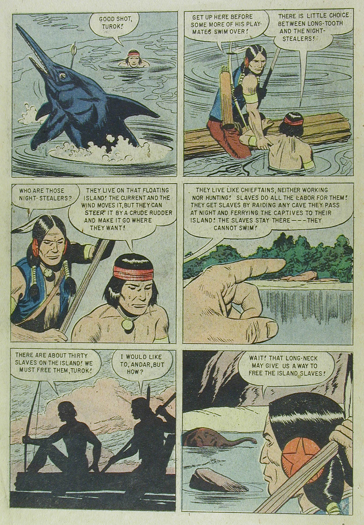 Read online Turok, Son of Stone comic -  Issue #13 - 14
