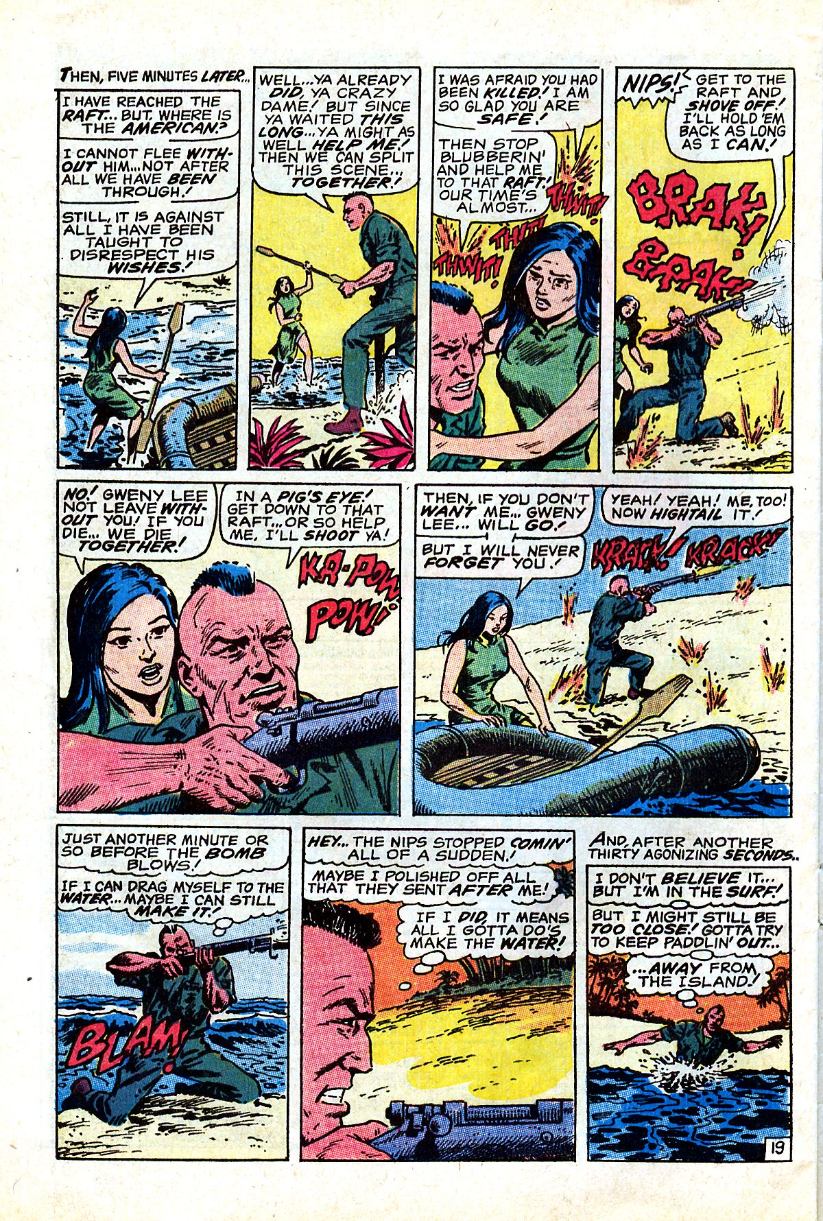 Captain Savage and his Leatherneck Raiders issue 17 - Page 32