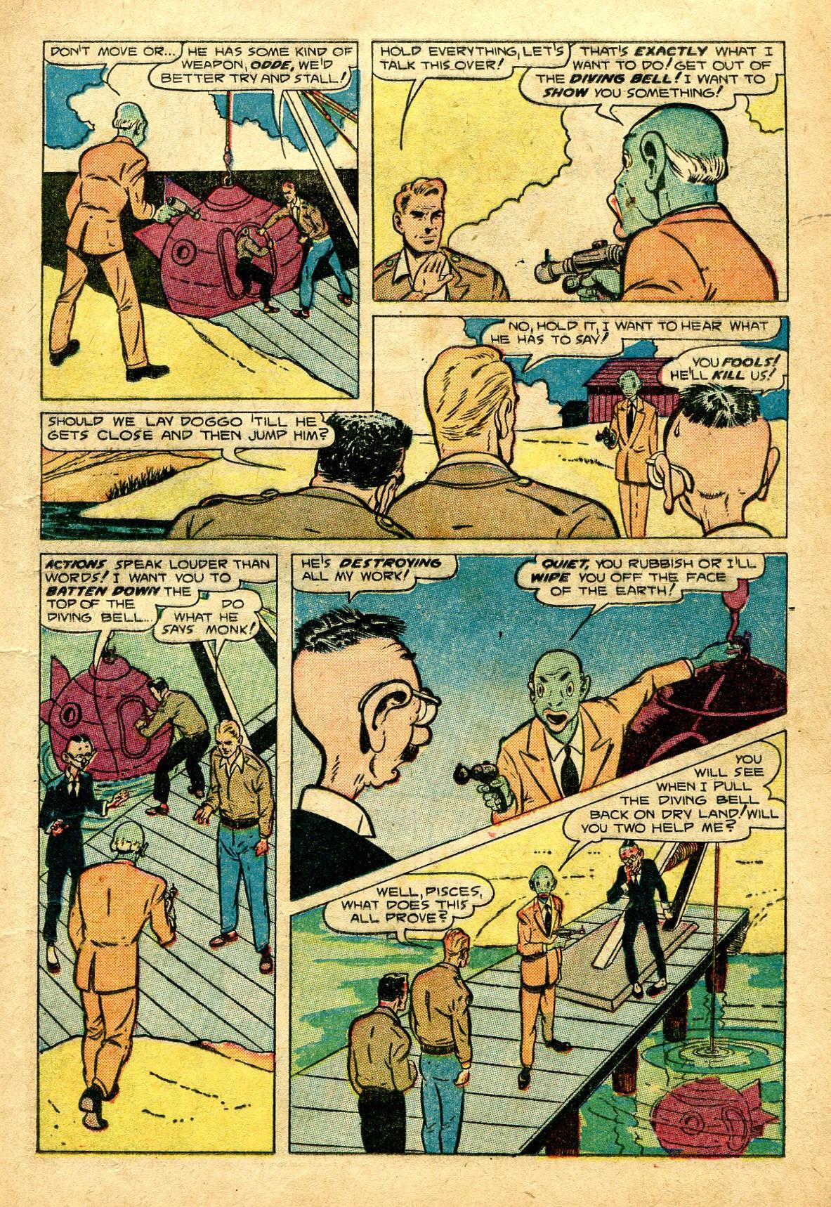 Read online Shadow Comics comic -  Issue #96 - 25