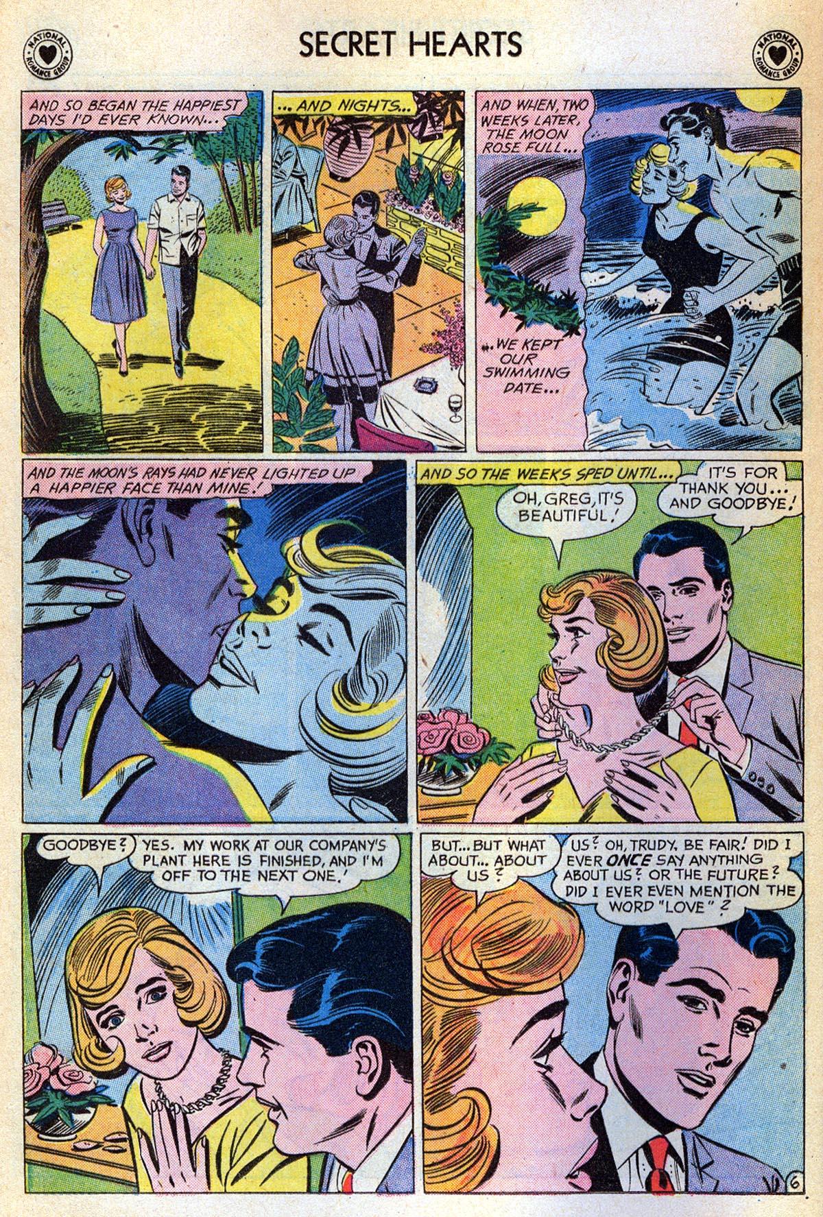Read online Secret Hearts comic -  Issue #76 - 8