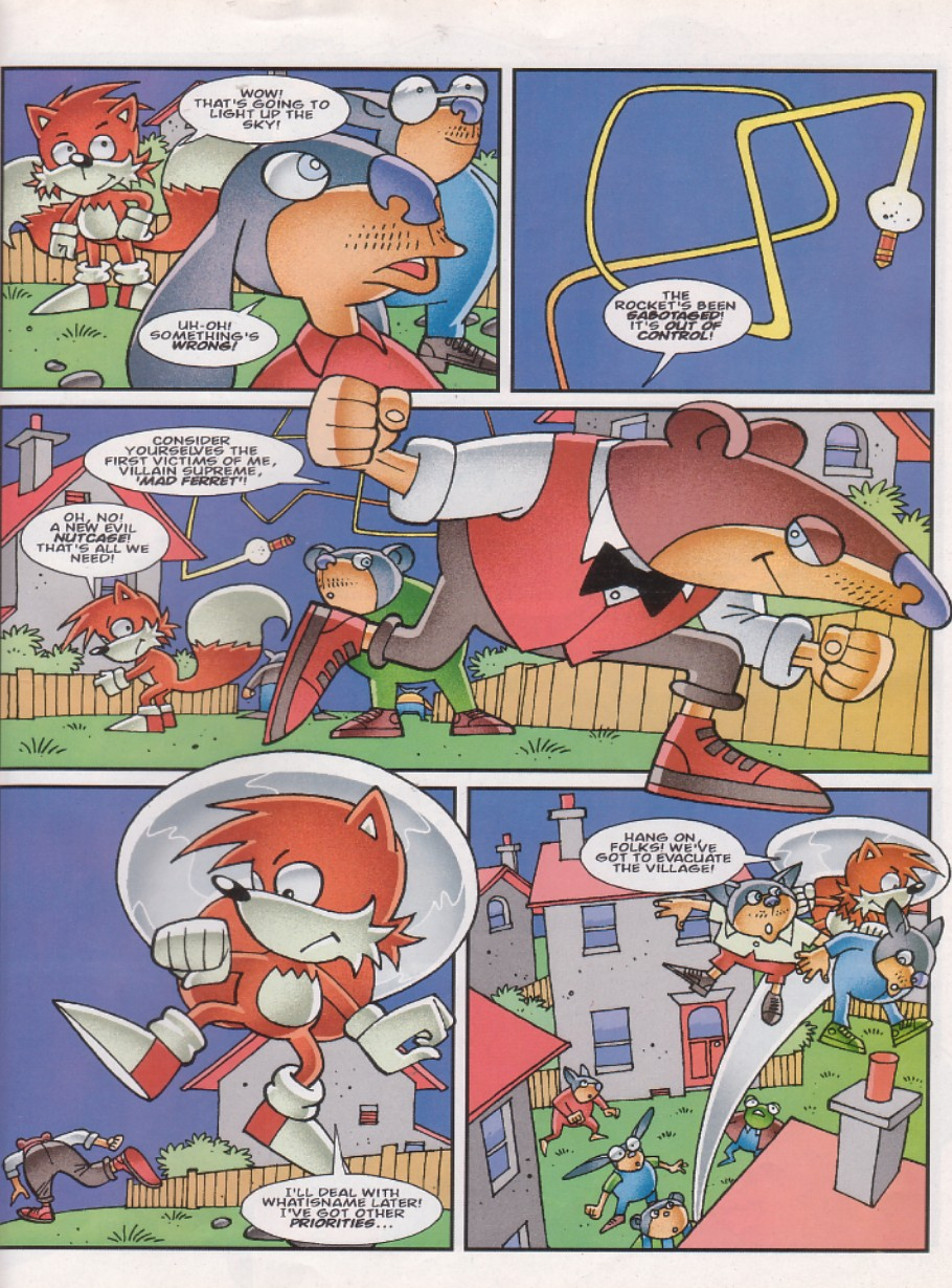 Read online Sonic the Comic comic -  Issue #142 - 17