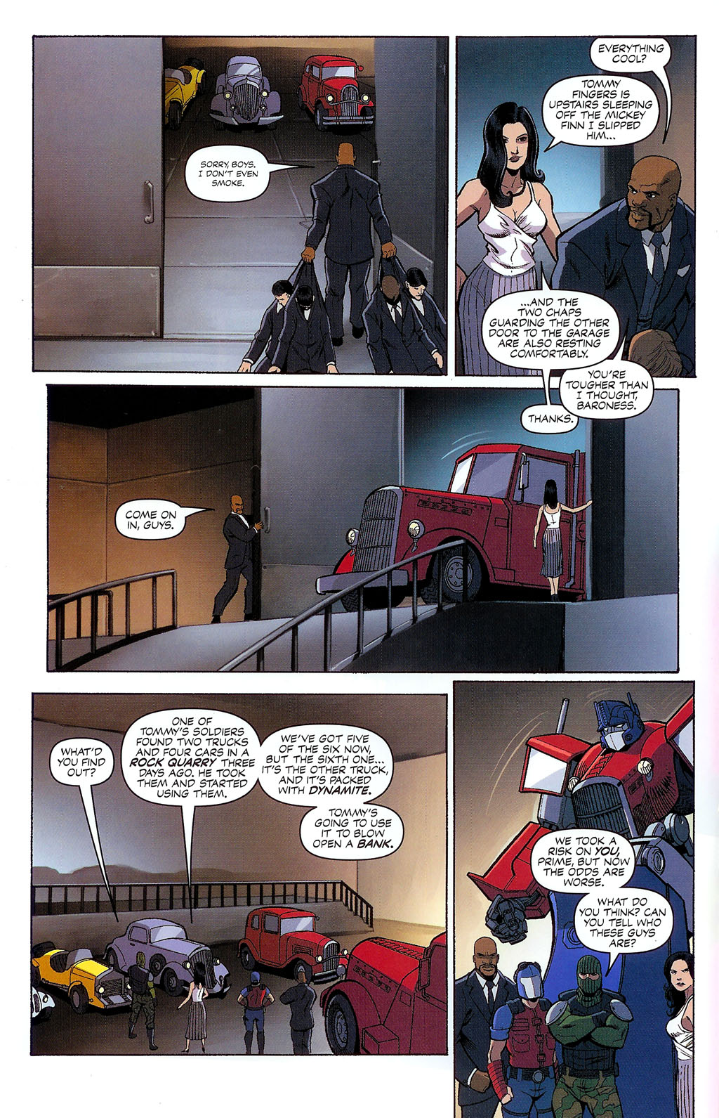 G.I. Joe vs. The Transformers II Issue #2 #3 - English 15