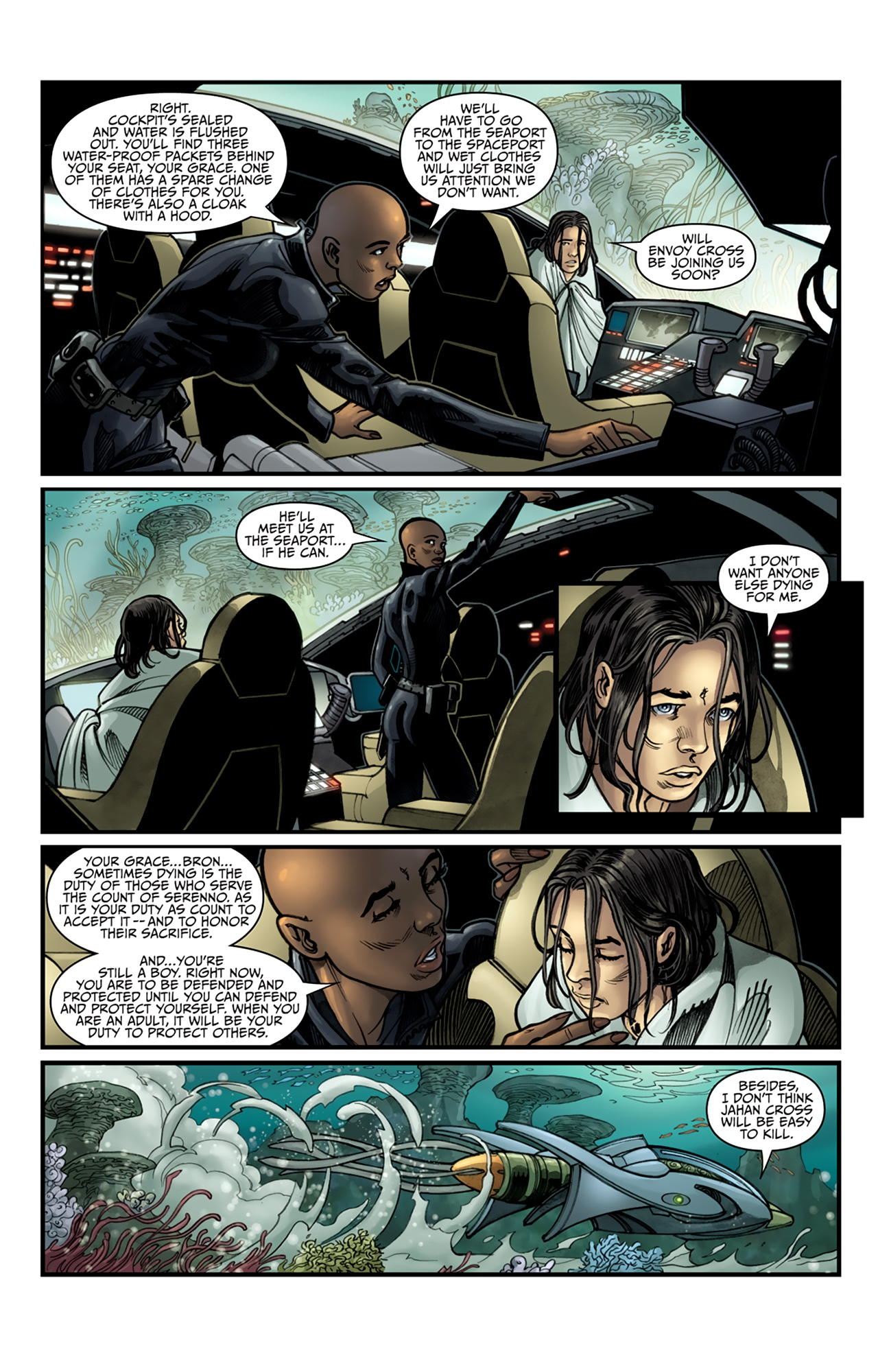 Read online Star Wars: Agent Of The Empire - Hard Targets comic -  Issue #4 - 17
