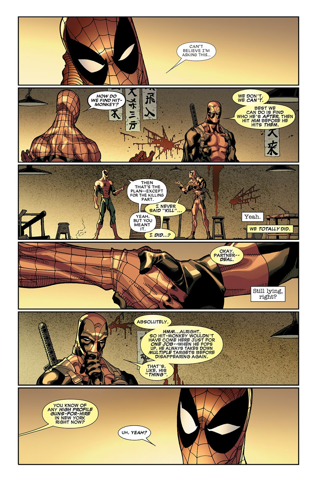 Read online Deadpool (2008) comic -  Issue #19 - 23