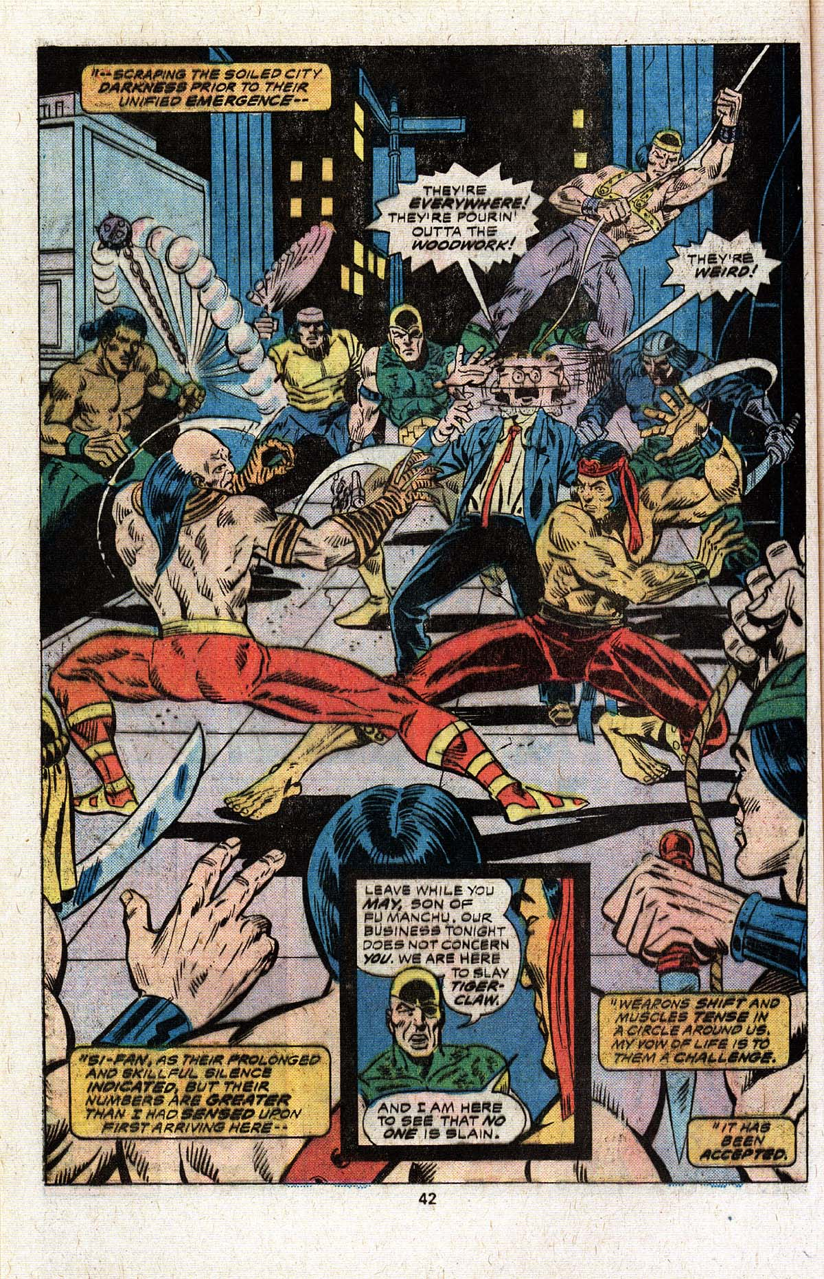 Read online Giant-Size Master of Kung Fu comic -  Issue #4 - 34