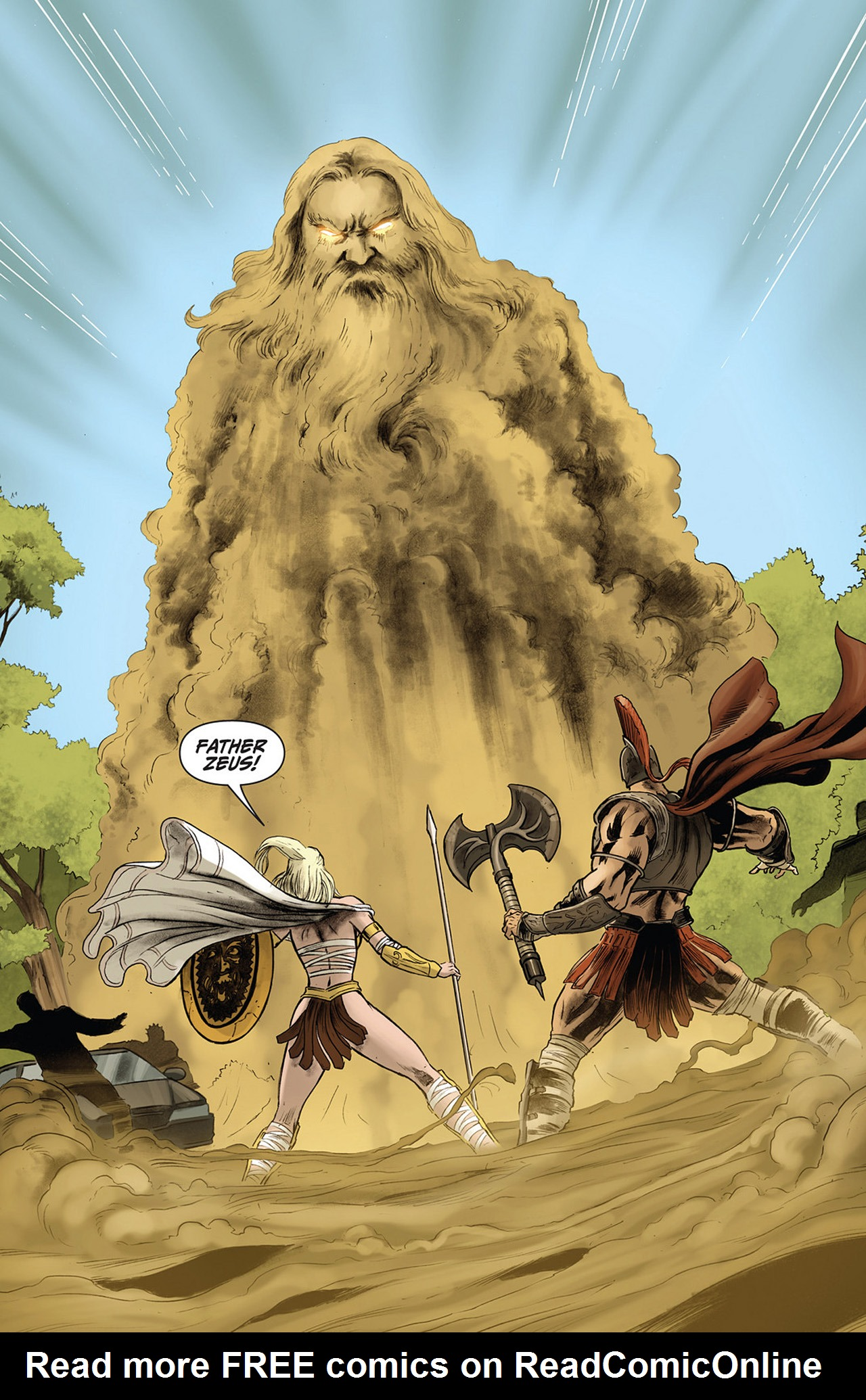 Read online Athena comic -  Issue #3 - 9