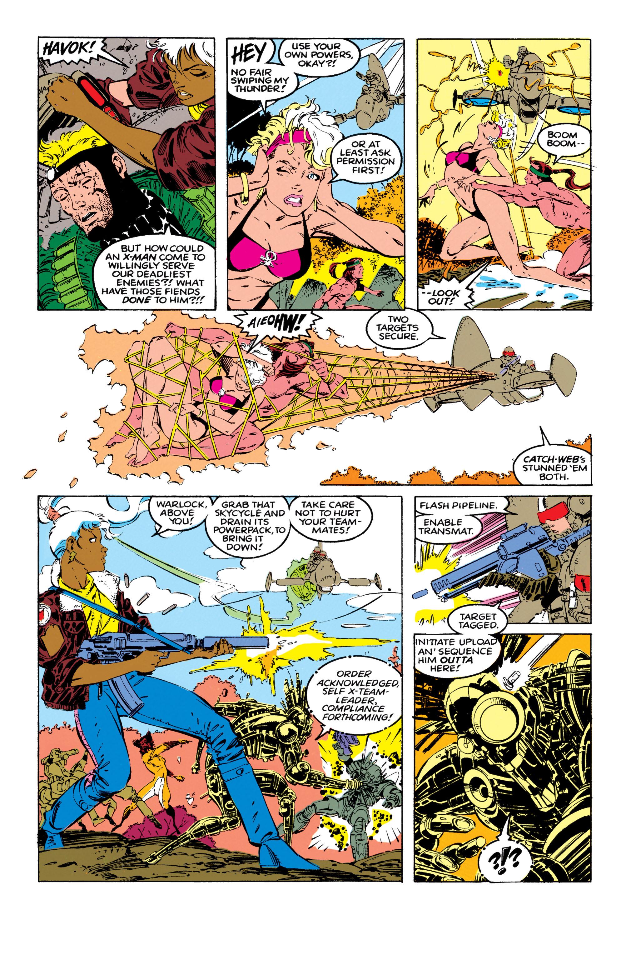 Read online Uncanny X-Men (1963) comic -  Issue #270 - 19
