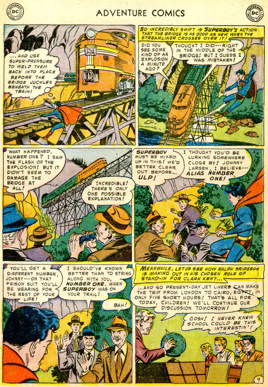Read online Adventure Comics (1938) comic -  Issue #191 - 11