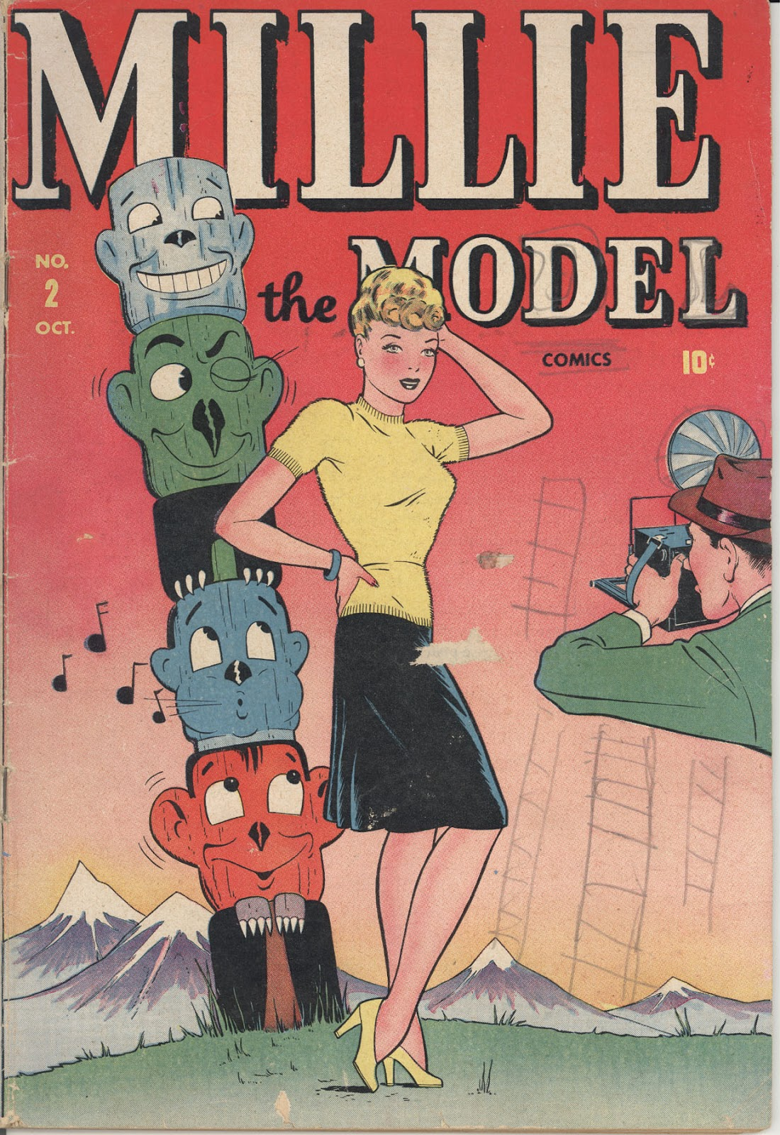 Read online Millie the Model comic -  Issue #2 - 1