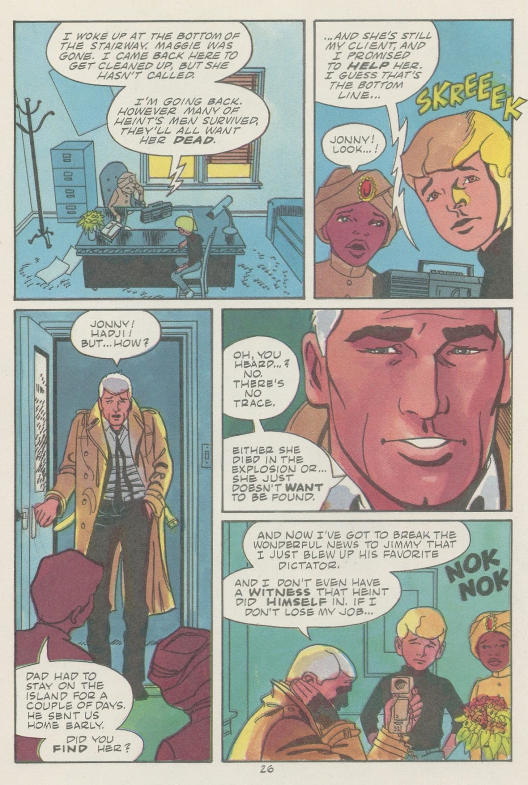 Jonny Quest (1986) issue 18 - Page 28