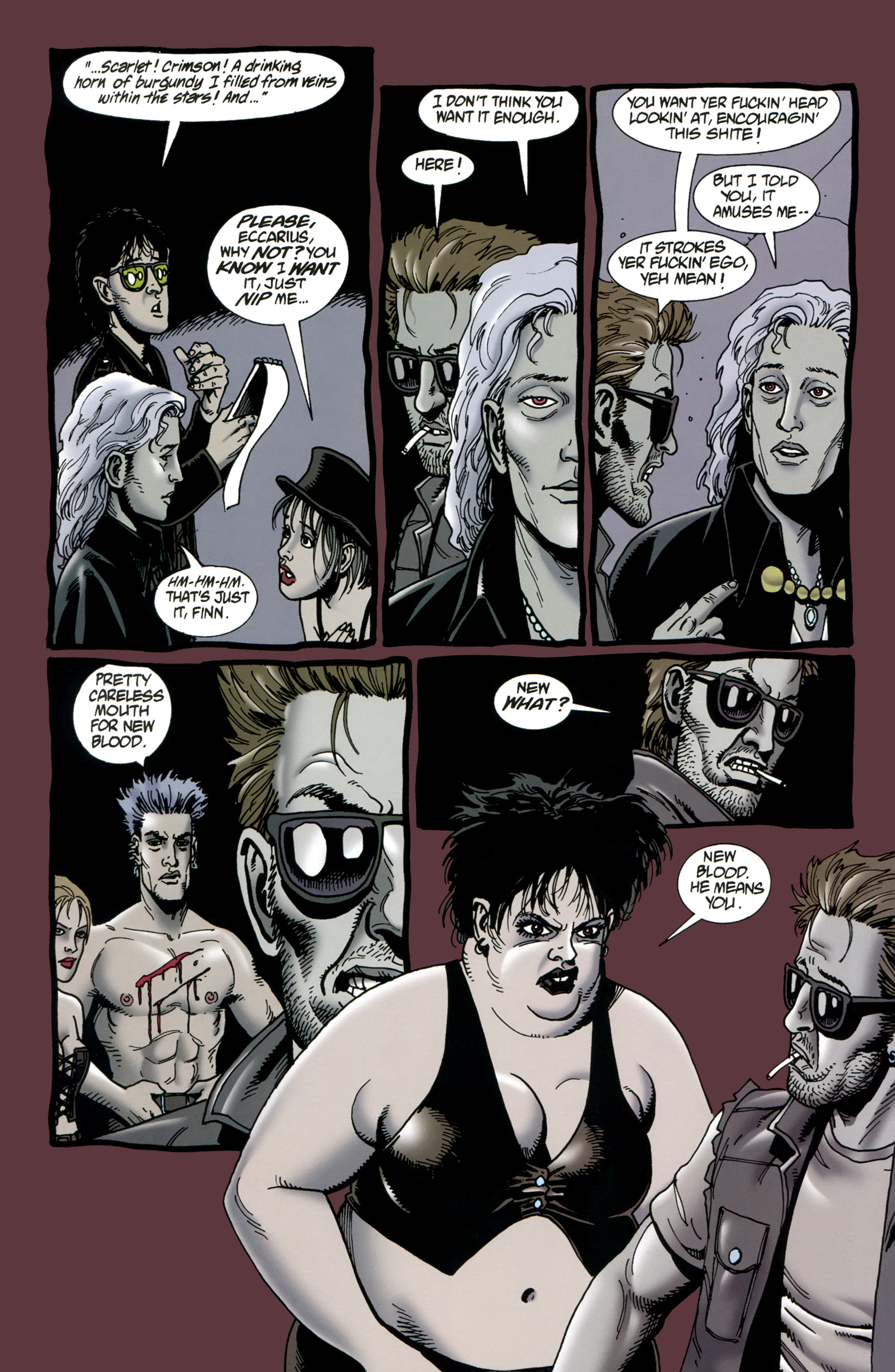 Read online Preacher Special: Cassidy : Blood and Whiskey comic -  Issue # Full - 28