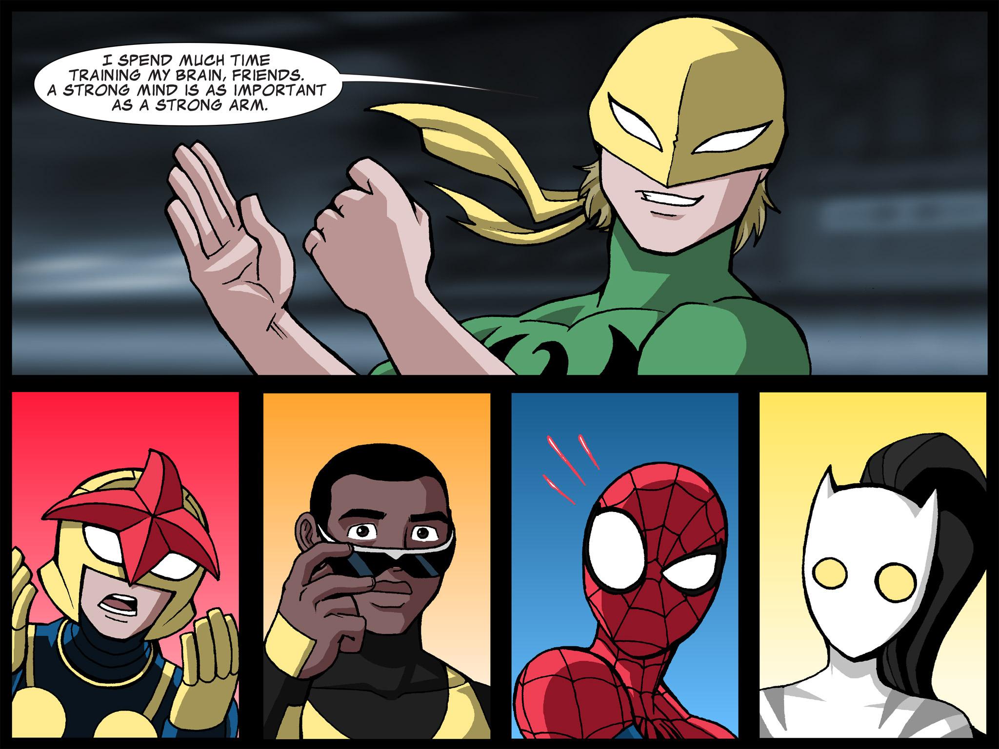 Read online Ultimate Spider-Man (Infinite Comics) (2015) comic -  Issue #21 - 19
