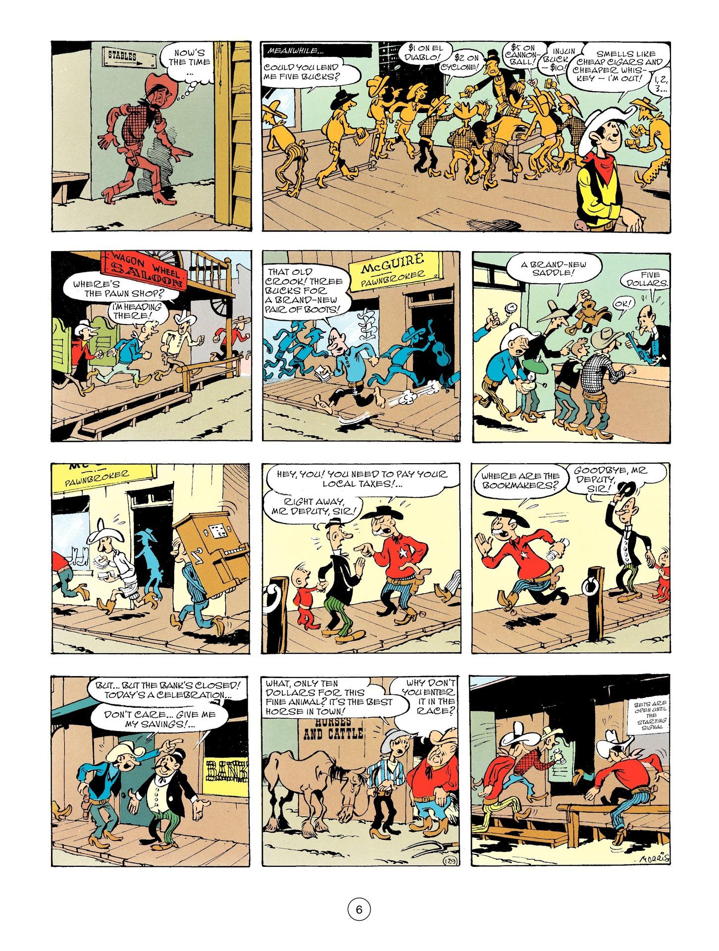 Read online A Lucky Luke Adventure comic -  Issue #56 - 6