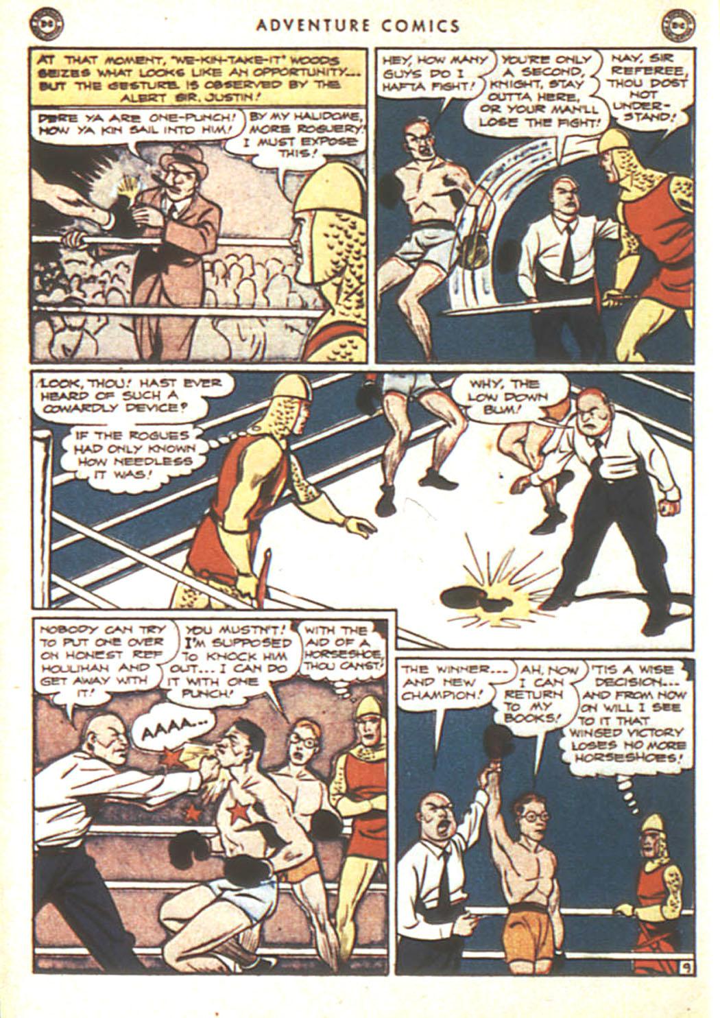 Read online Adventure Comics (1938) comic -  Issue #92 - 26
