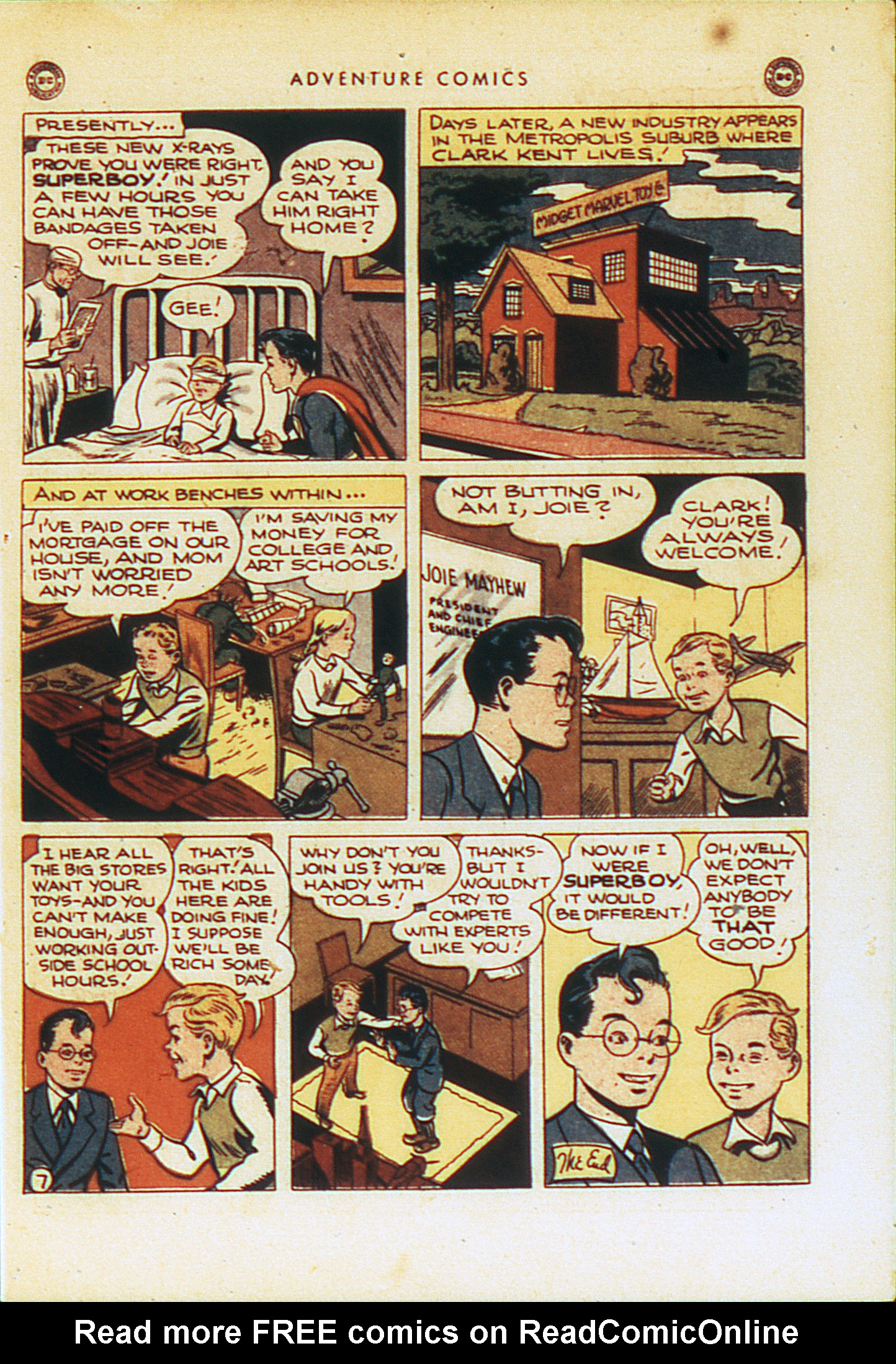 Read online Adventure Comics (1938) comic -  Issue #104 - 10