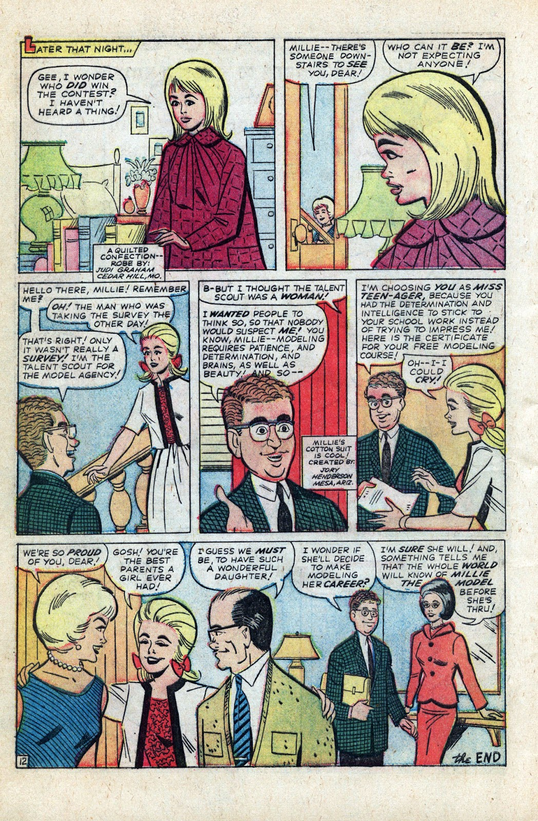 Millie the Model issue Annual 3 - Page 18
