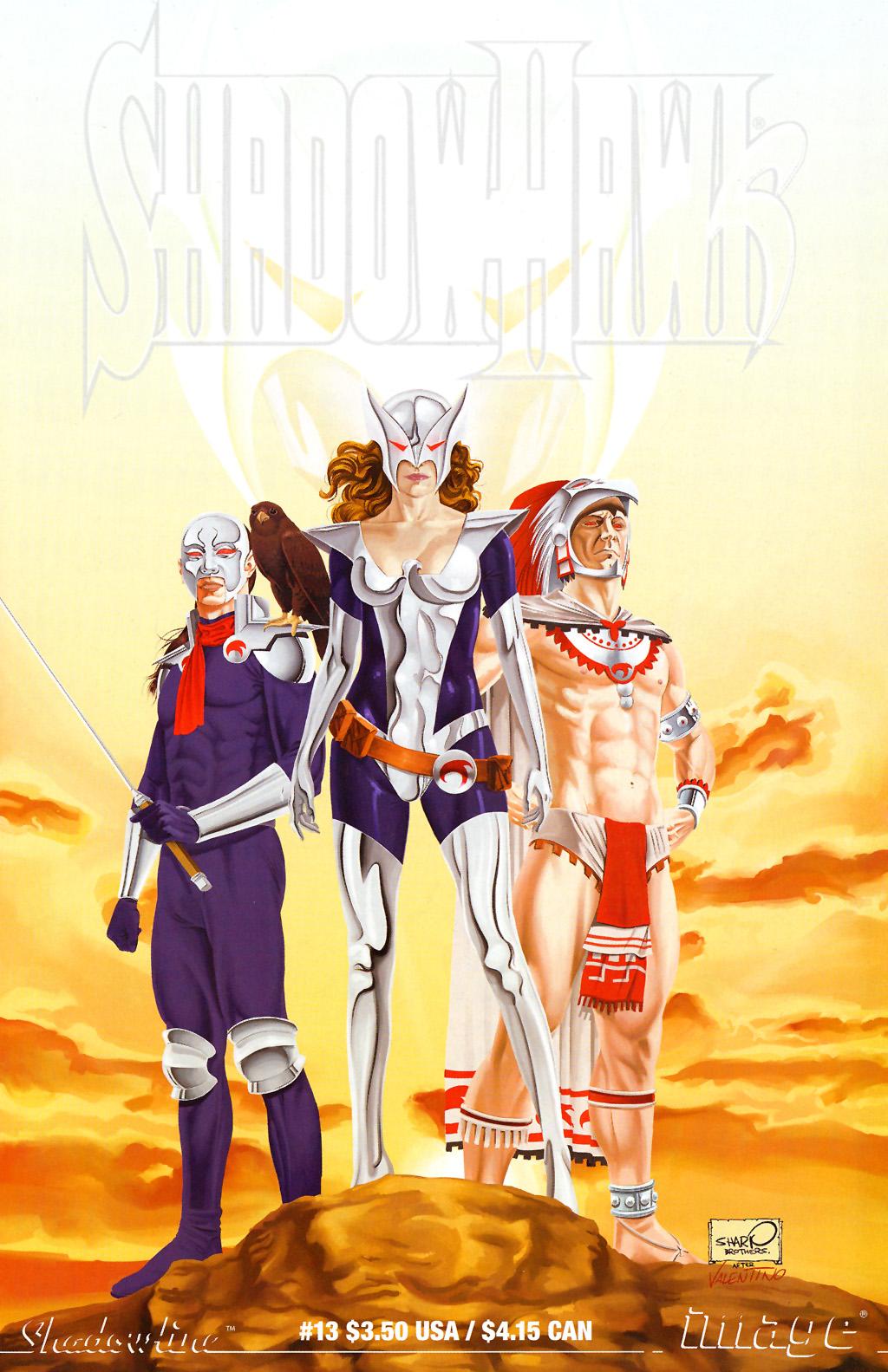 Read online ShadowHawk (2005) comic -  Issue #13 - 1