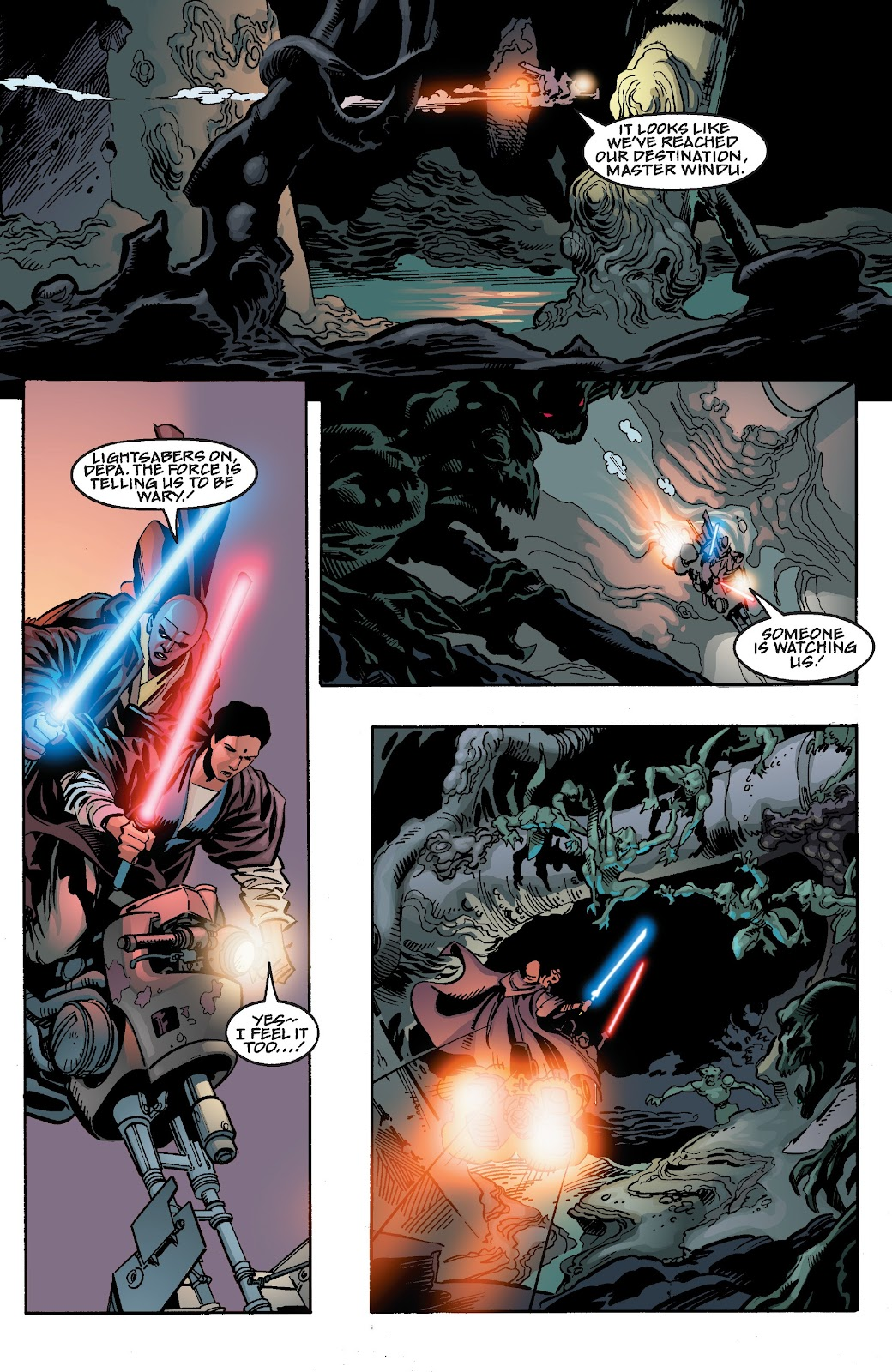 Read online Star Wars Legends Epic Collection: The Menace Revealed comic -  Issue # TPB (Part 4) - 59