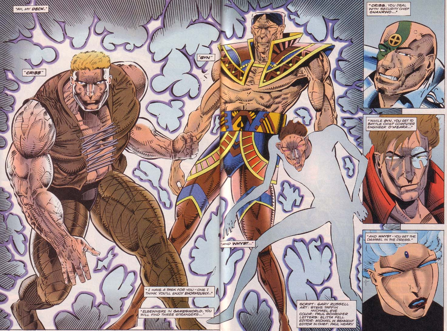 Read online Cyberspace 3000 comic -  Issue #7 - 3