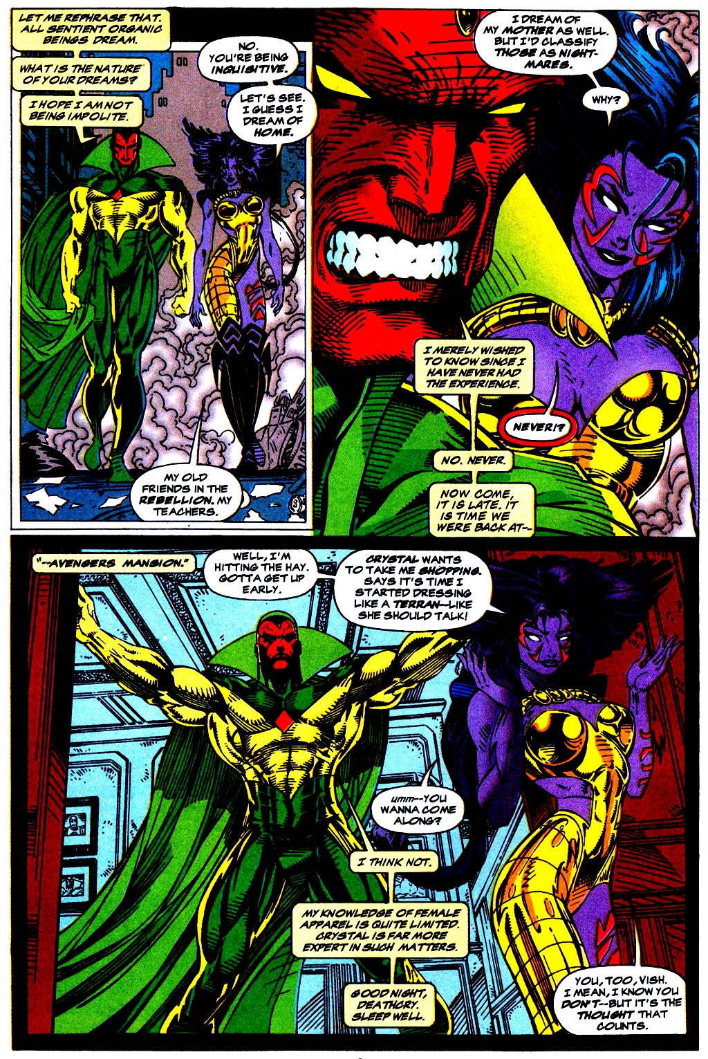 Read online The Vision comic -  Issue #1 - 7