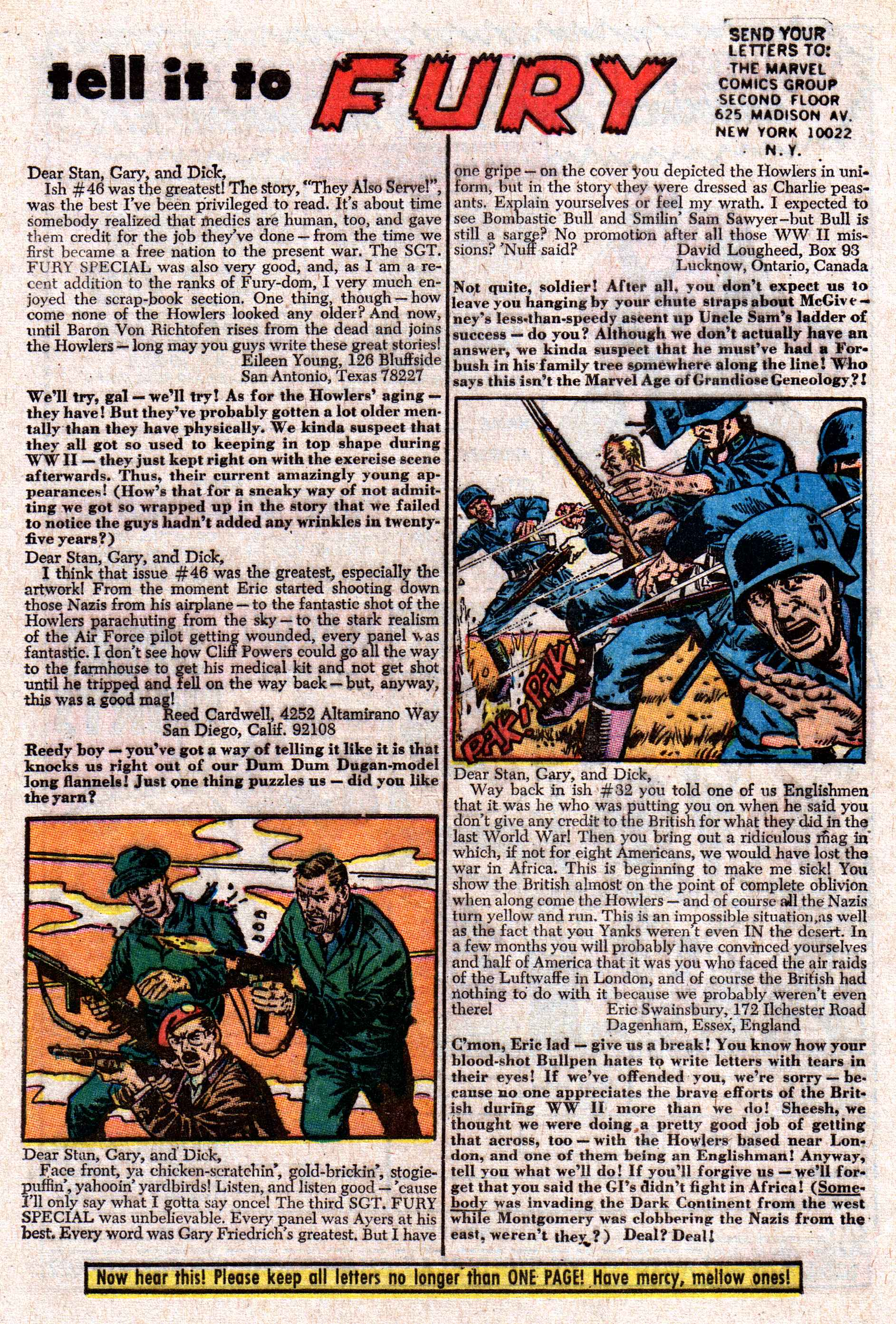 Read online Sgt. Fury comic -  Issue #50 - 32