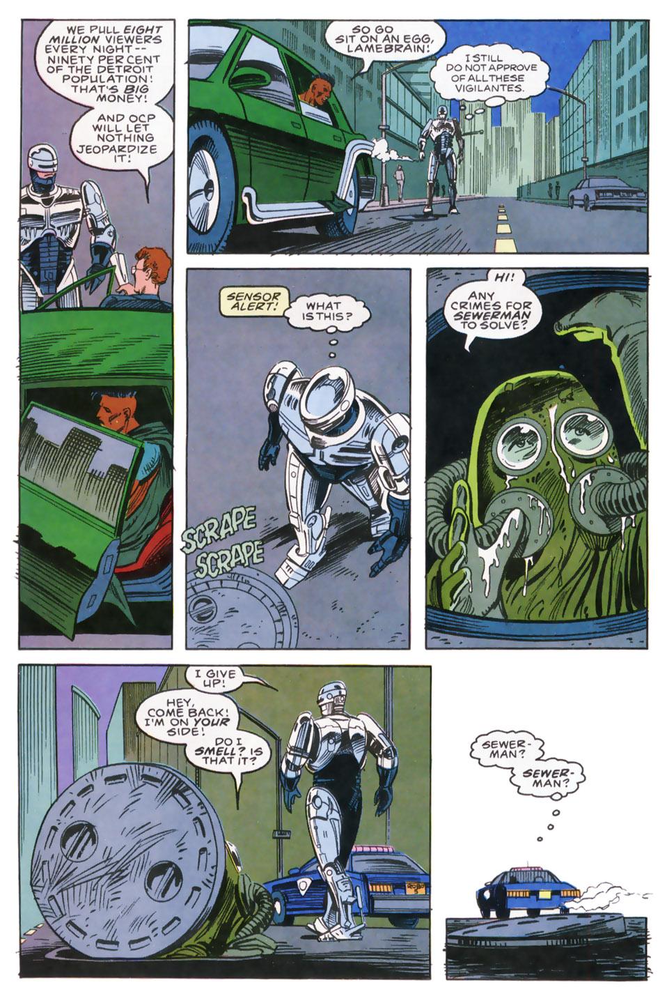 Read online Robocop (1990) comic -  Issue #9 - 19