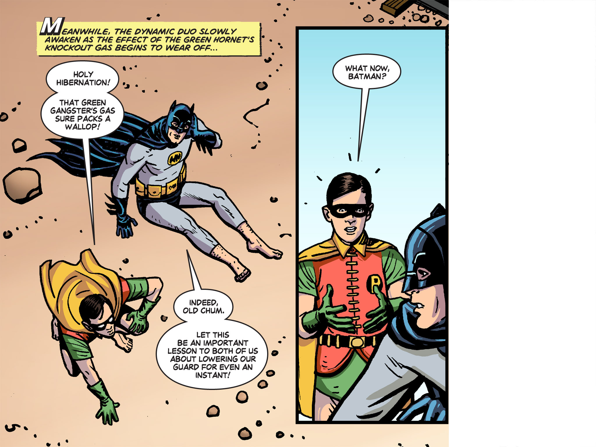 Read online Batman '66 Meets the Green Hornet [II] comic -  Issue #4 - 31