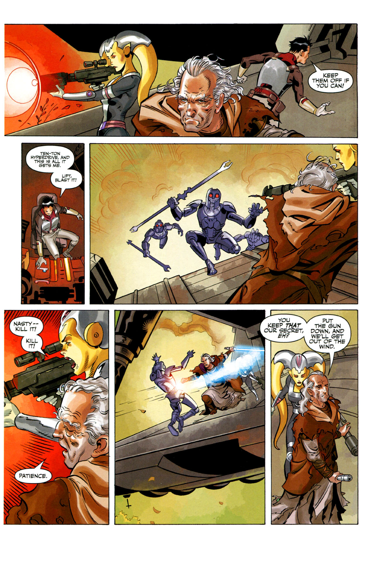 Read online Star Wars: The Old Republic - The Lost Suns comic -  Issue #2 - 14