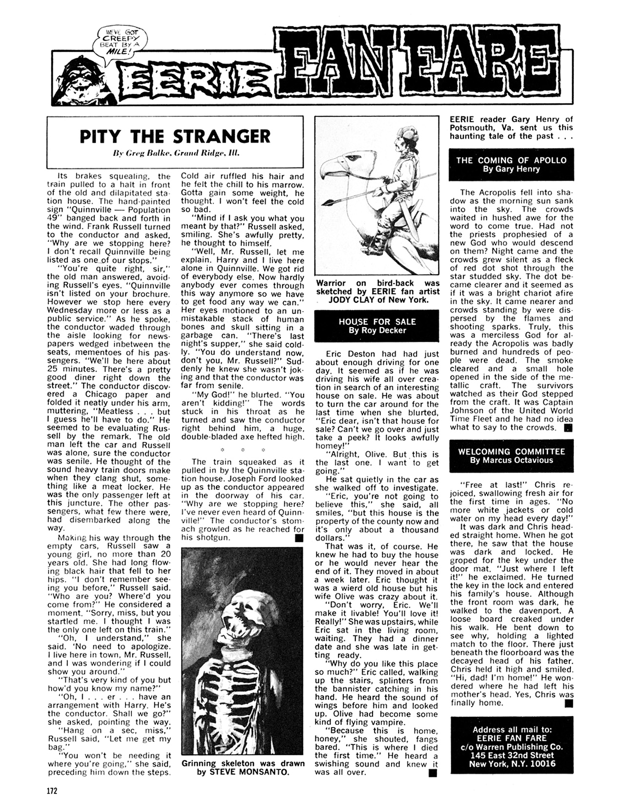 Read online Eerie Archives comic -  Issue # TPB 8 - 173