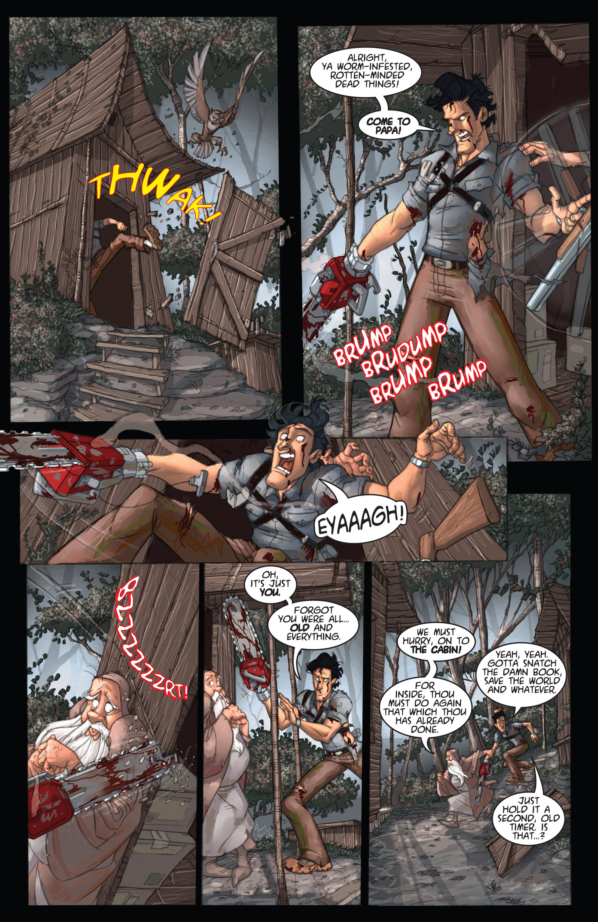 Read online Army of Darkness: Ashes 2 Ashes comic -  Issue #2 - 8