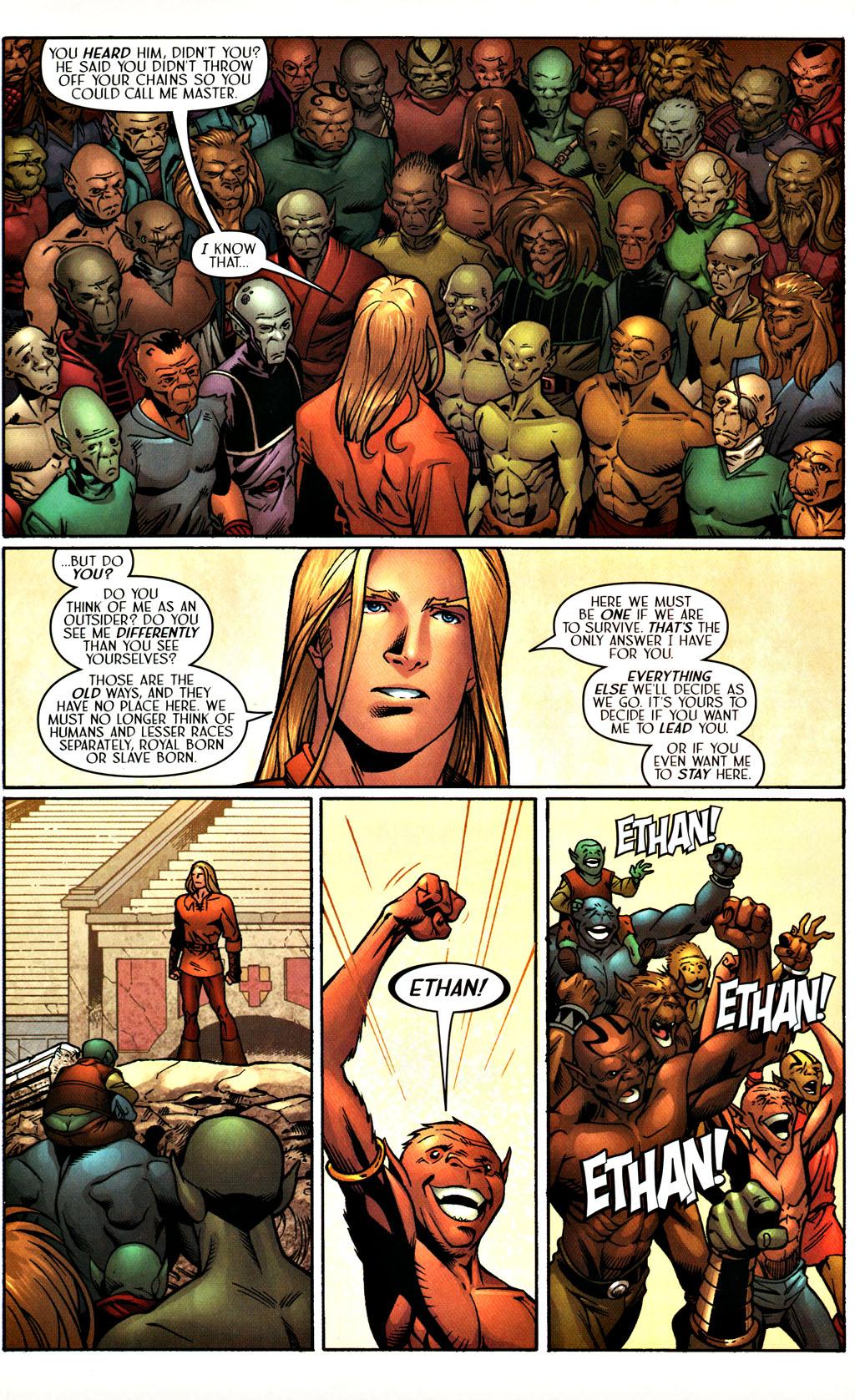 Read online Scion comic -  Issue #27 - 20
