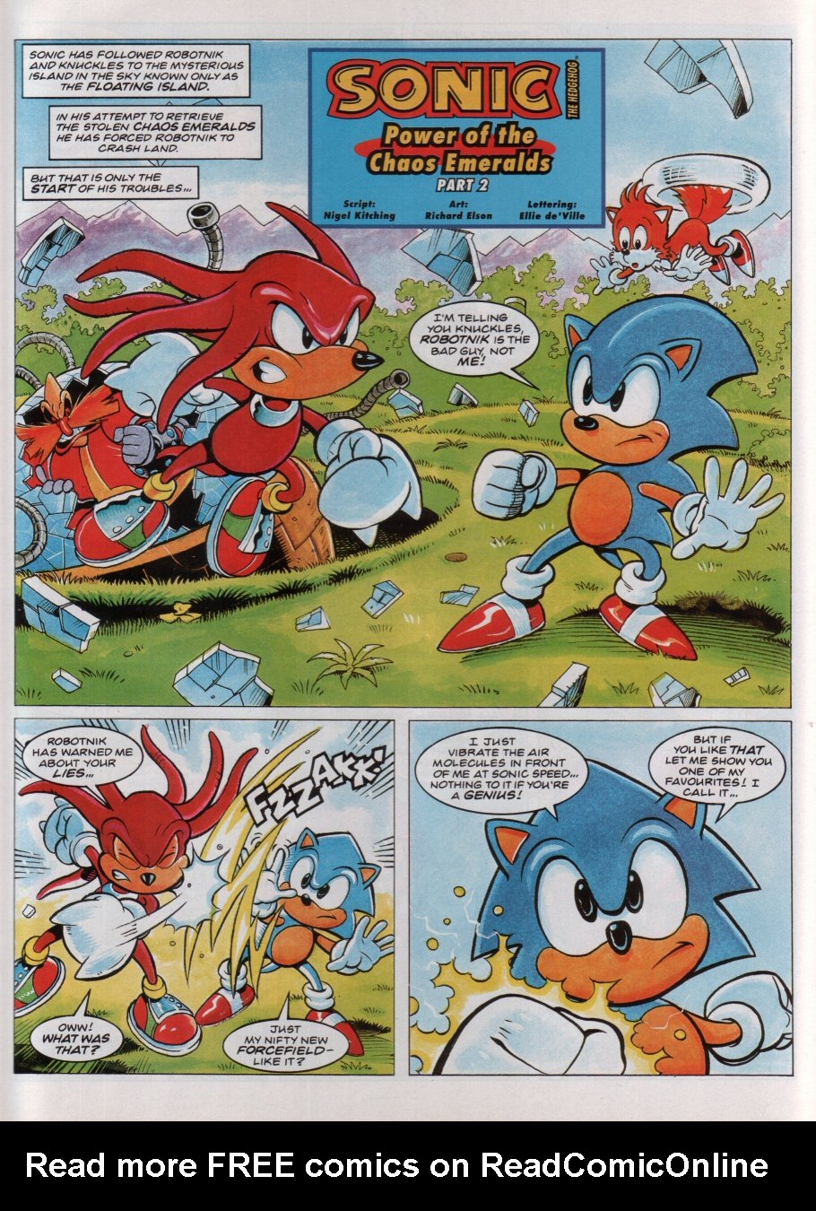 Read online Sonic the Comic comic -  Issue #36 - 3