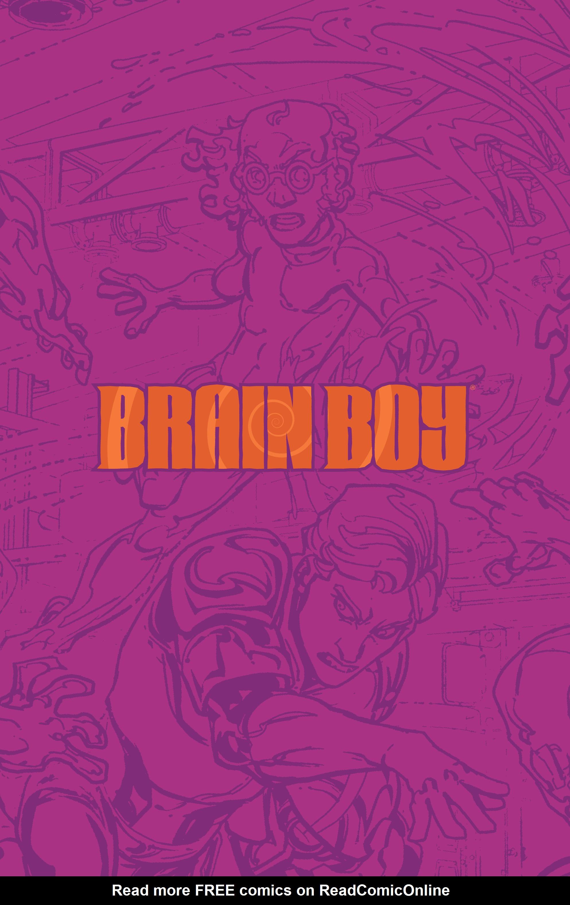 Read online Brain Boy:  The Men from G.E.S.T.A.L.T. comic -  Issue # TPB - 79