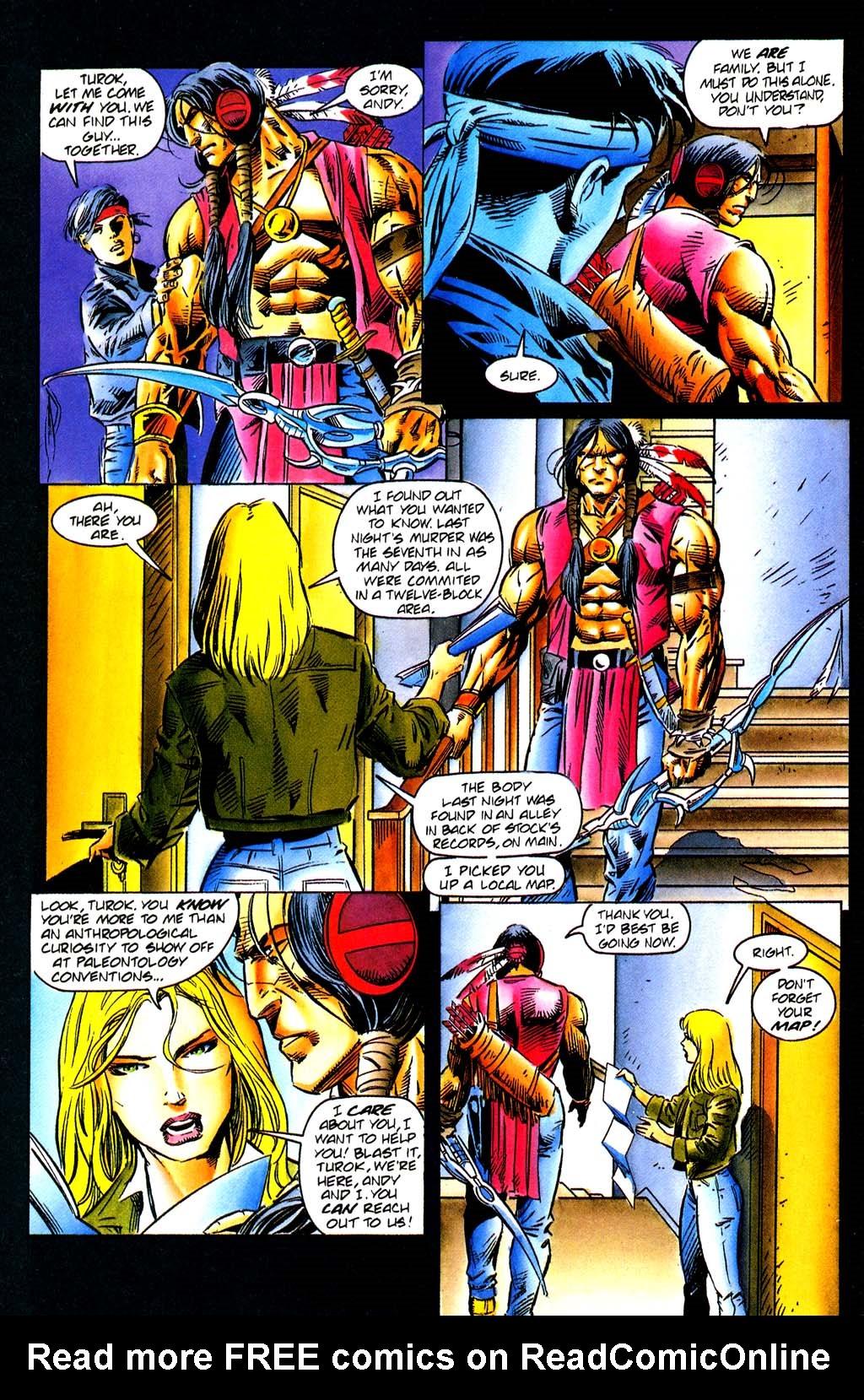 Read online Turok, Dinosaur Hunter (1993) comic -  Issue #29 - 8