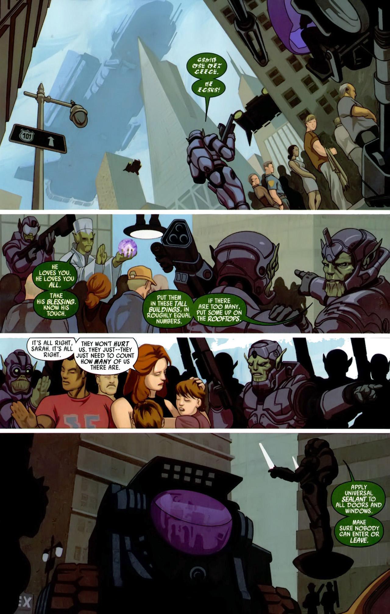 Read online Secret Invasion: X-Men comic -  Issue #3 - 14