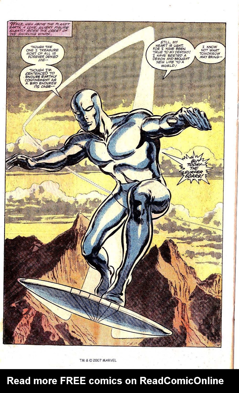Silver Surfer (1982) Full #1 - English 50