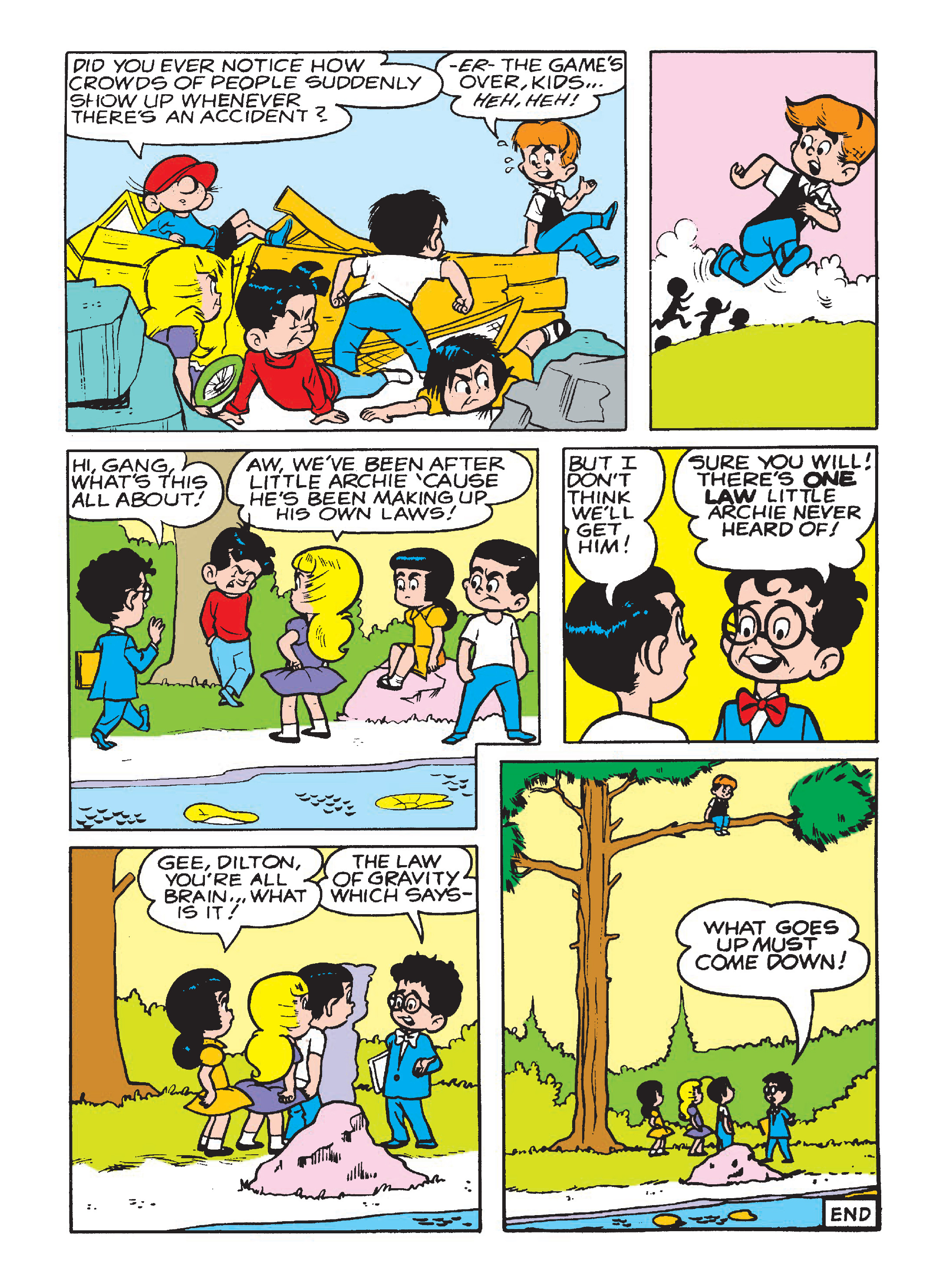 Read online Archie 75th Anniversary Digest comic -  Issue #5 - 113