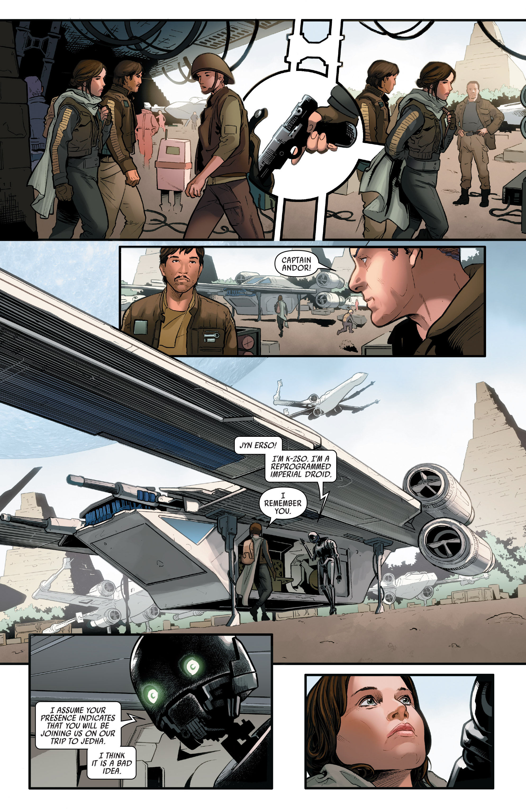 Read online Star Wars: Rogue One Adaptation comic -  Issue #1 - 27