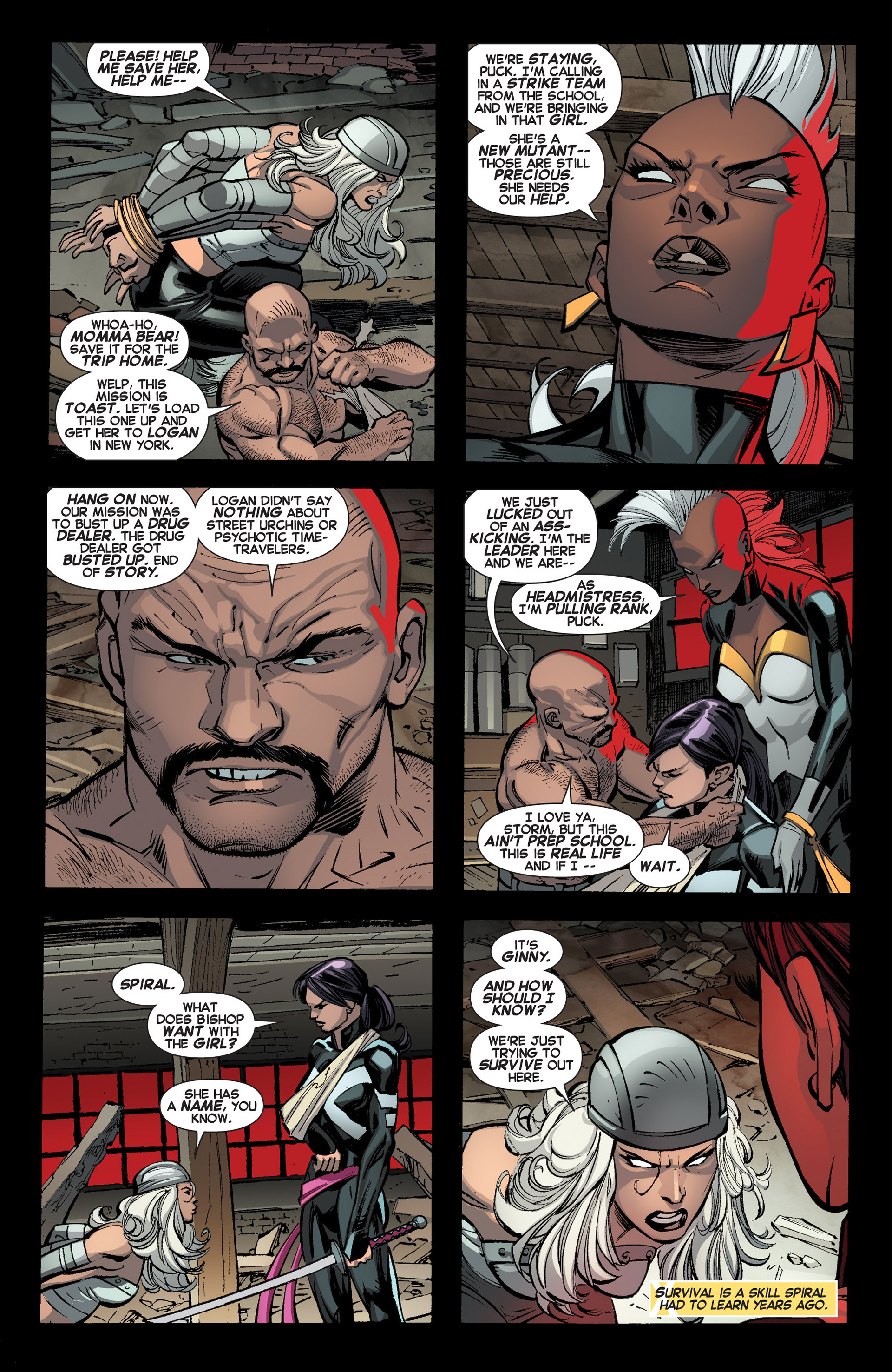 Read online Uncanny X-Force (2013) comic -  Issue #3 - 5