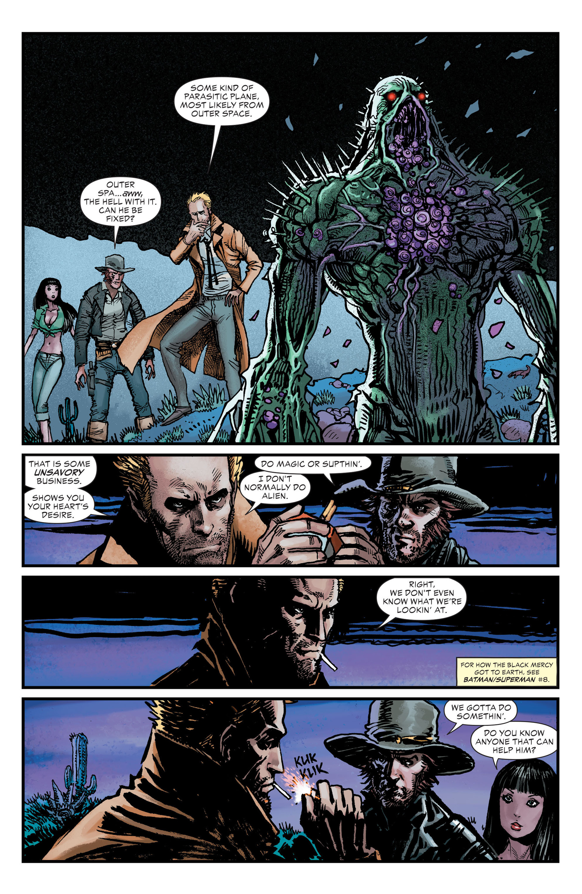 Read online All-Star Western (2011) comic -  Issue #26 - 16