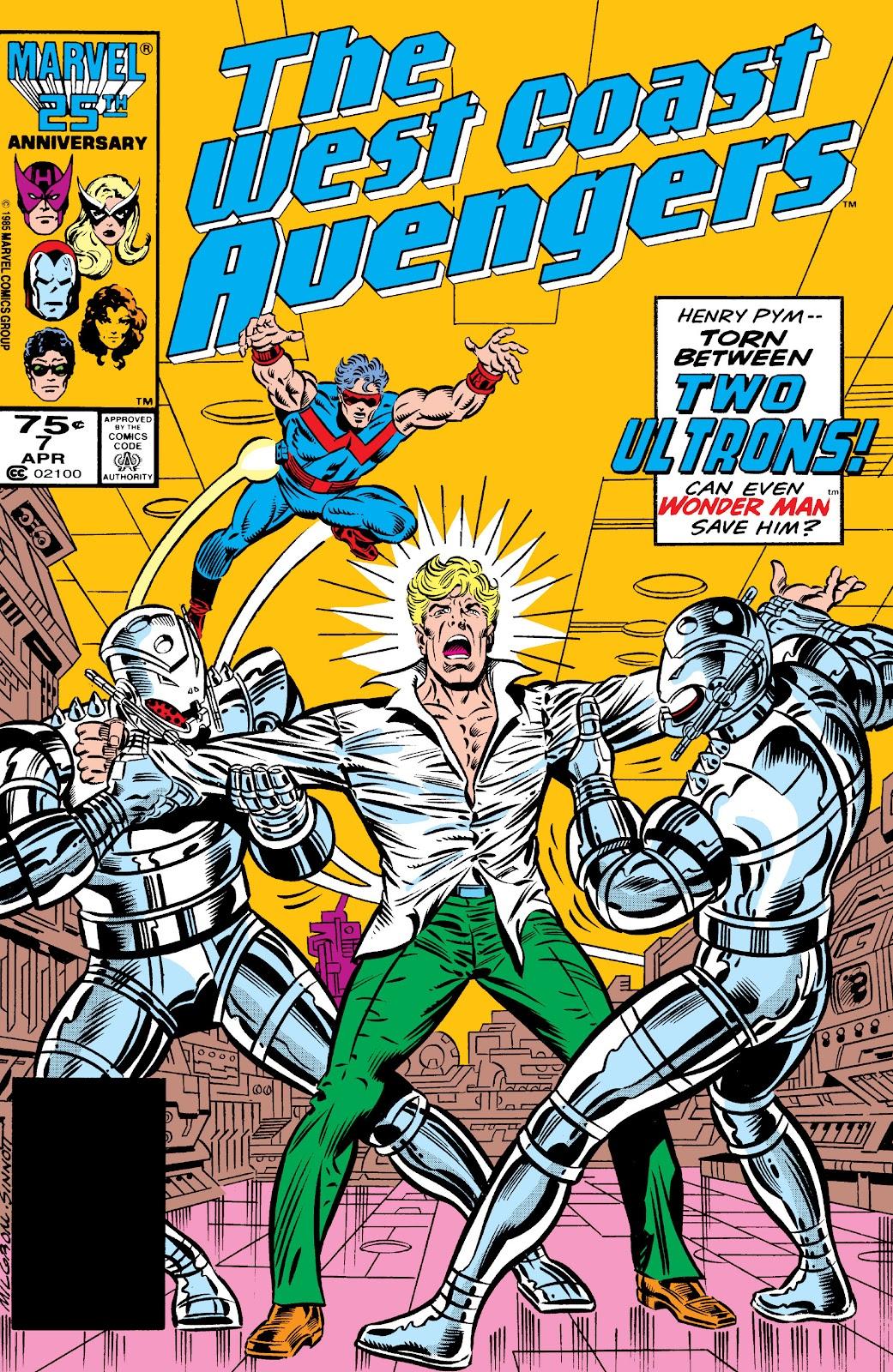 West Coast Avengers (1985) 7 Page 1