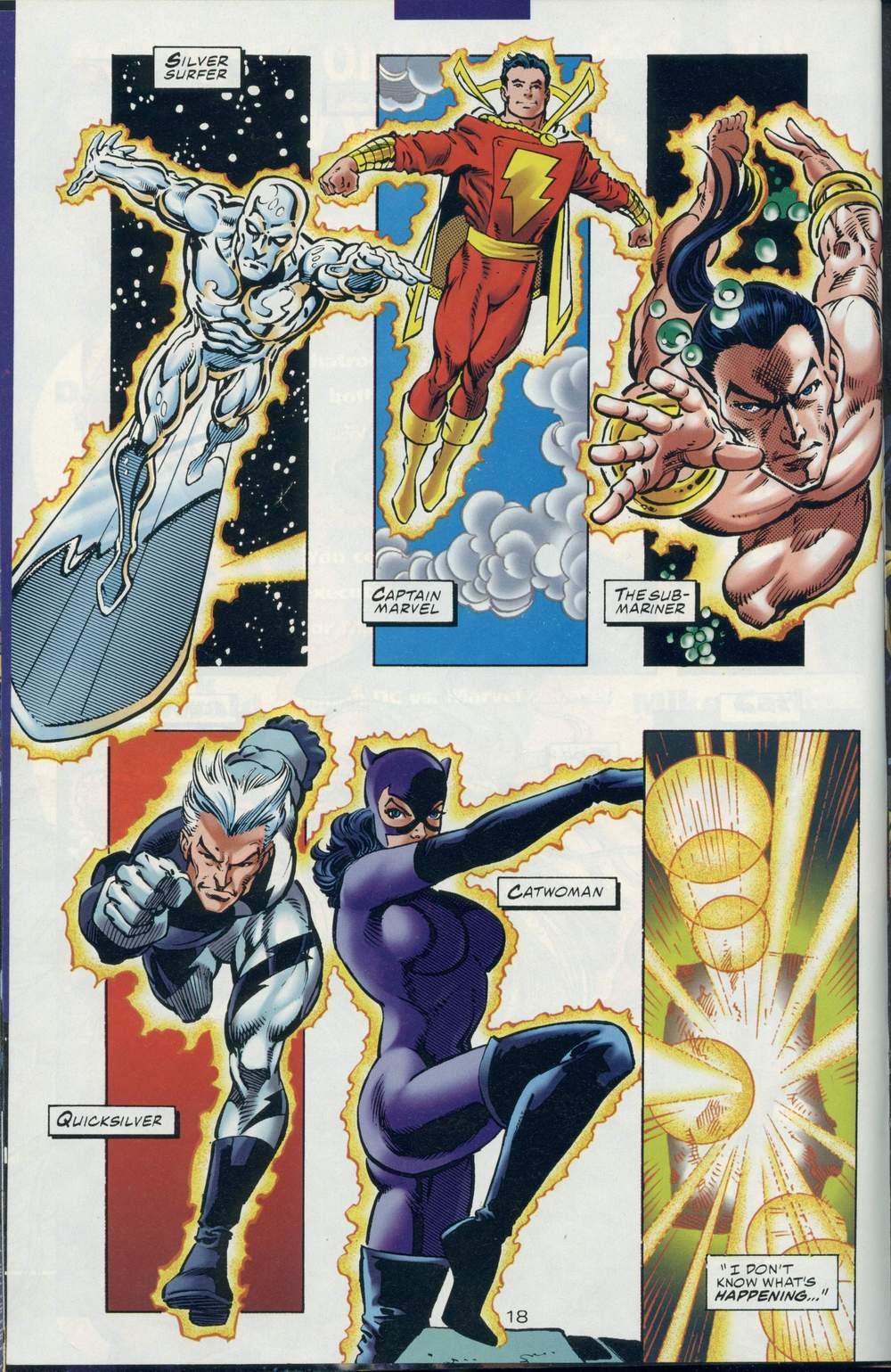 Read online DC Versus Marvel Comics comic -  Issue #1 - 20