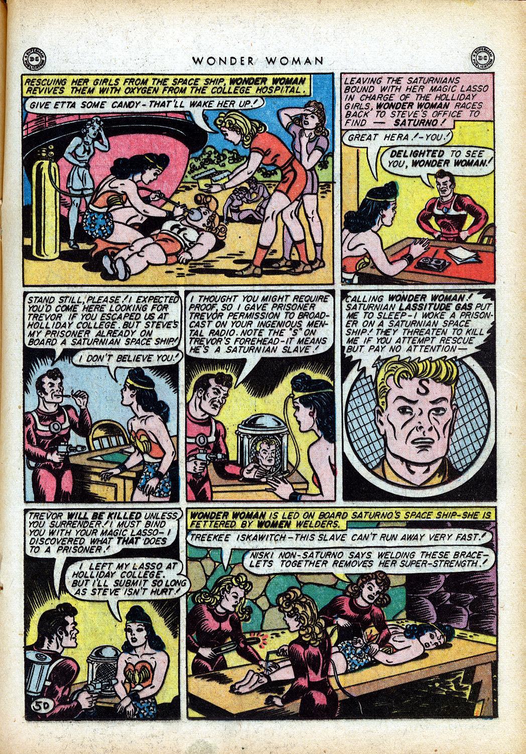 Read online Wonder Woman (1942) comic -  Issue #10 - 26